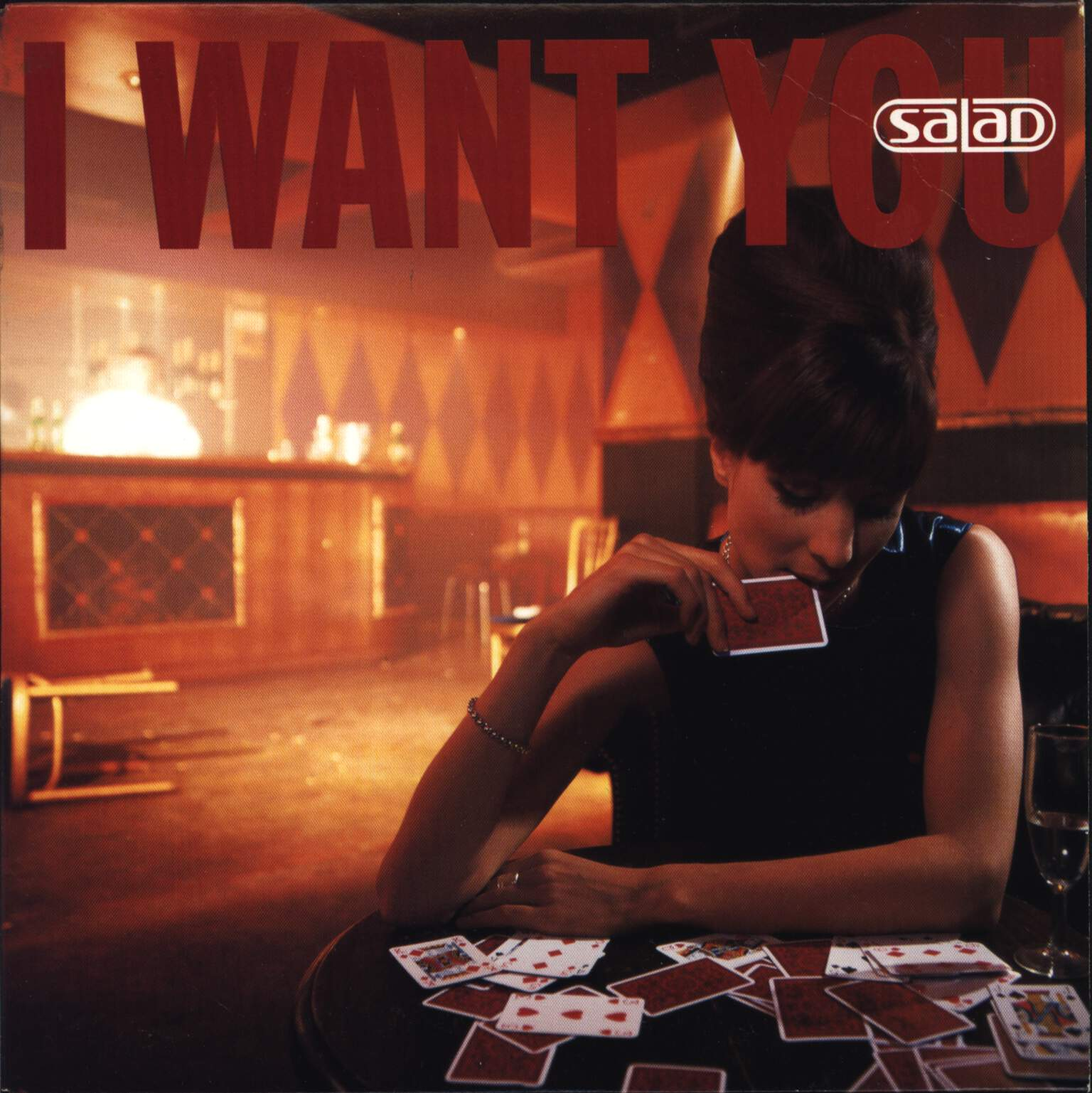 "Salad: I Want You, 7"" Single (Vinyl)"
