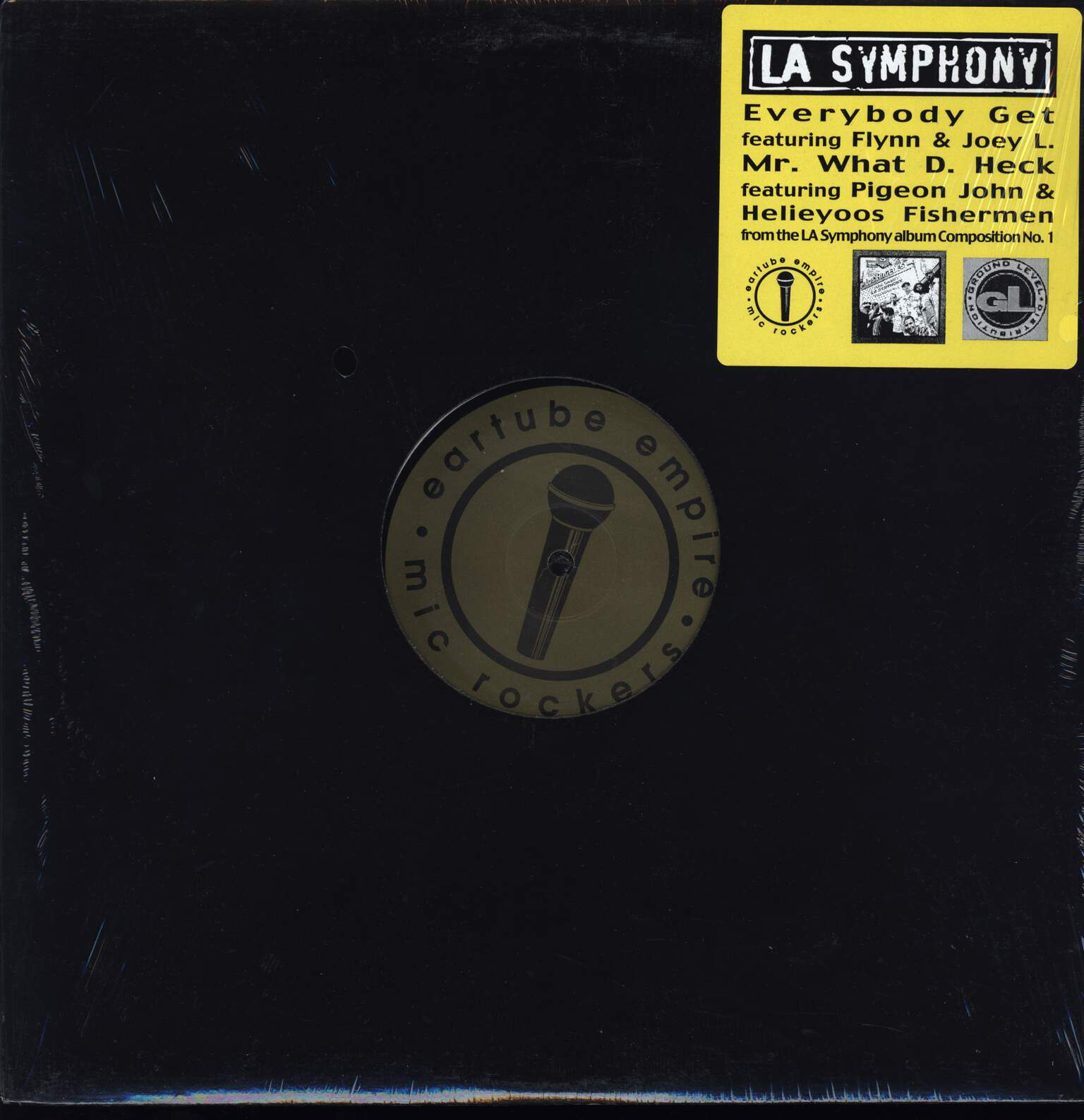 "L.A. Symphony: Everybody Get / Mr. What D. Heck, 12"" Maxi Single (Vinyl)"