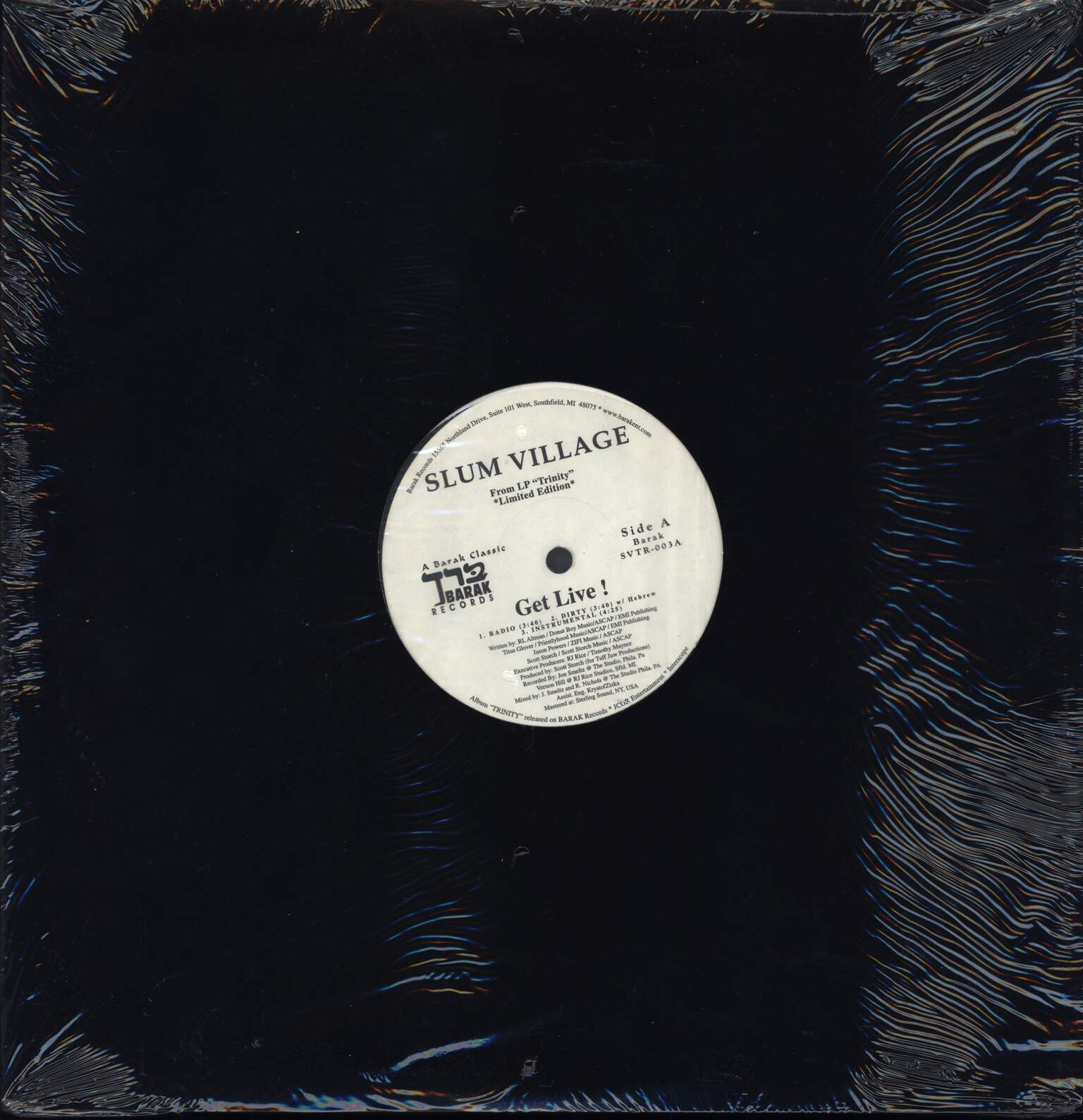 "Slum Village: Get Live! / One, 12"" Maxi Single (Vinyl)"