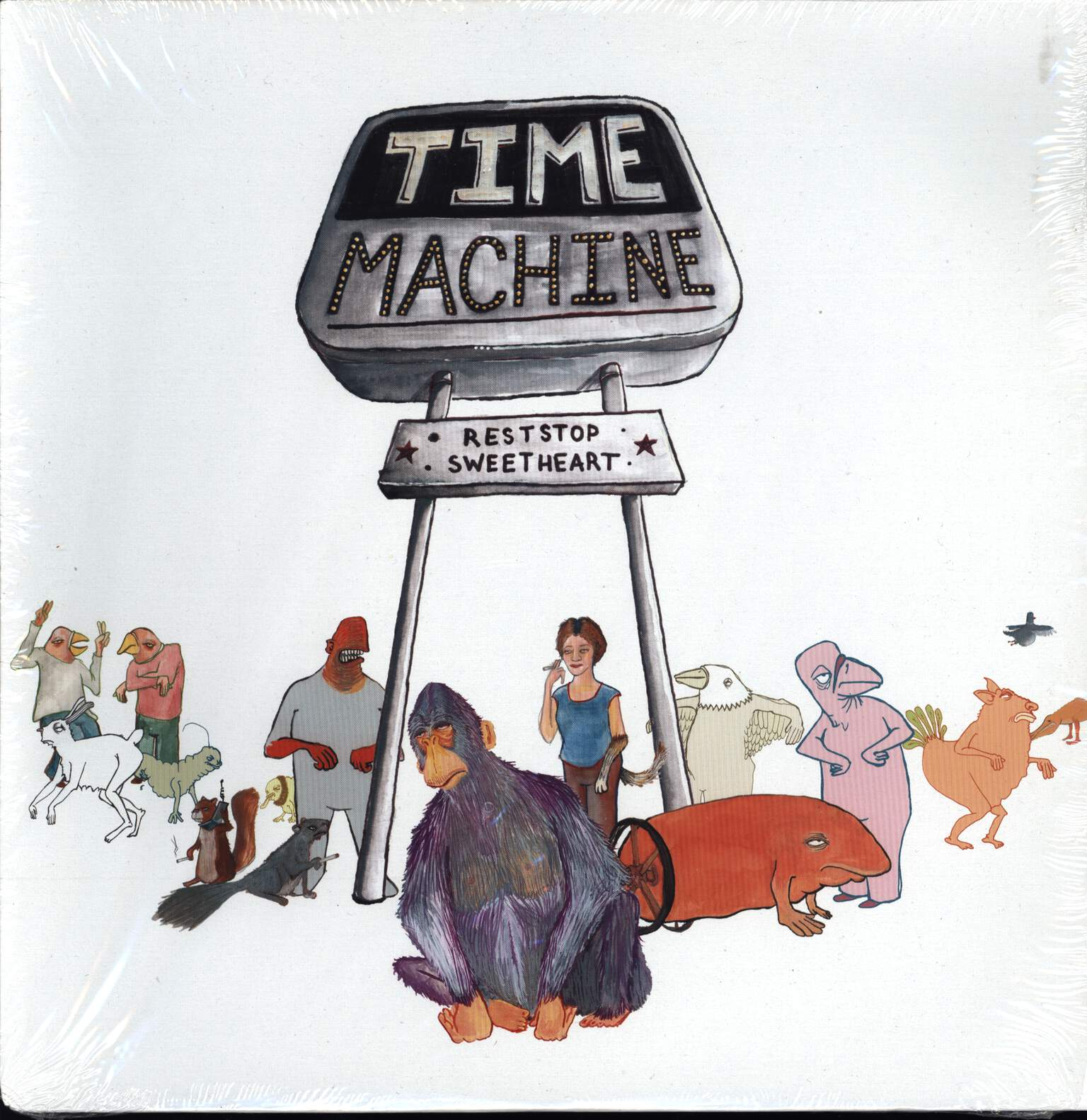 "Time Machine: Reststop Sweetheart, 12"" Maxi Single (Vinyl)"