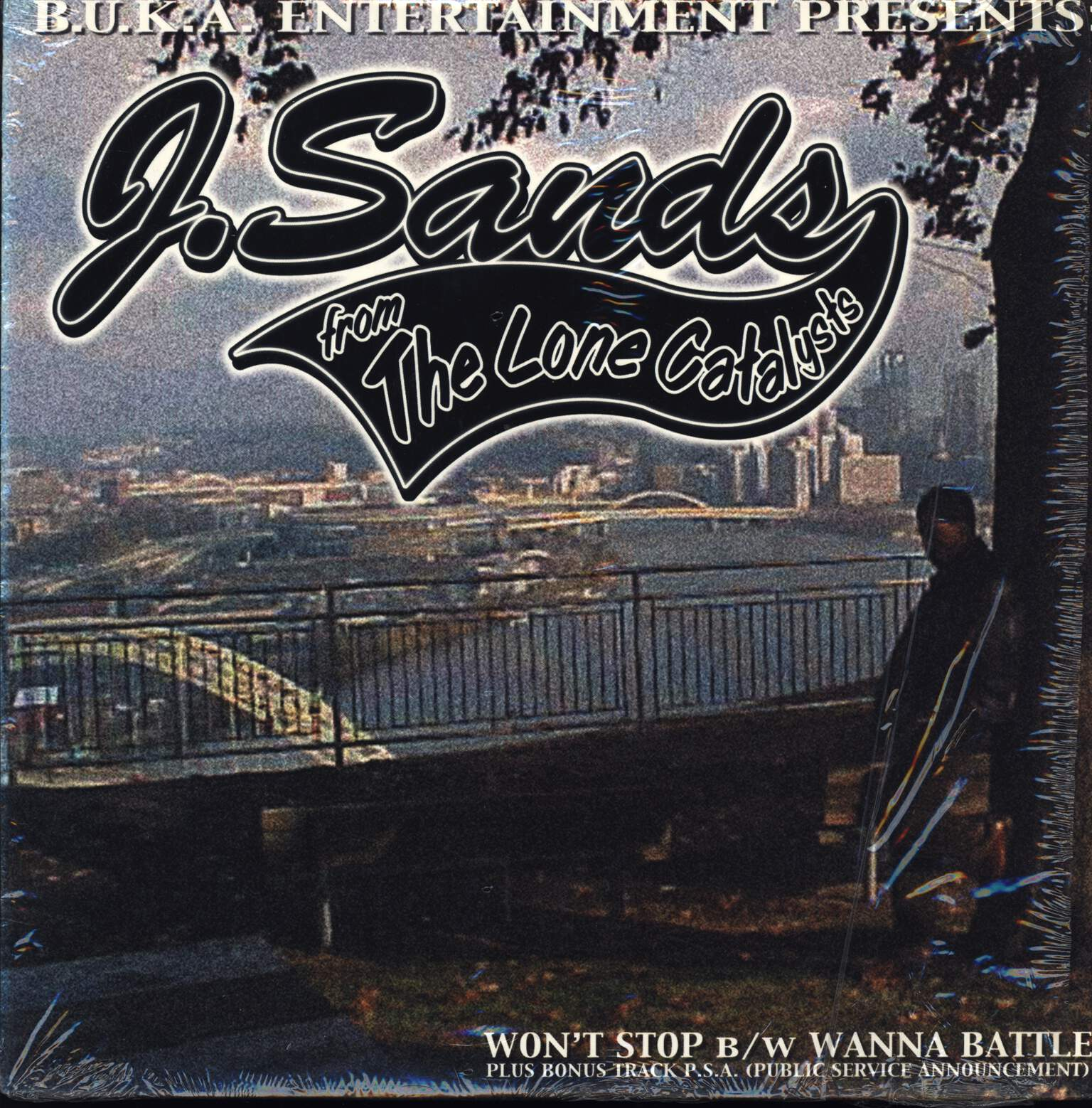 "J. Sands: Won't Stop / Wanna Battle, 12"" Maxi Single (Vinyl)"