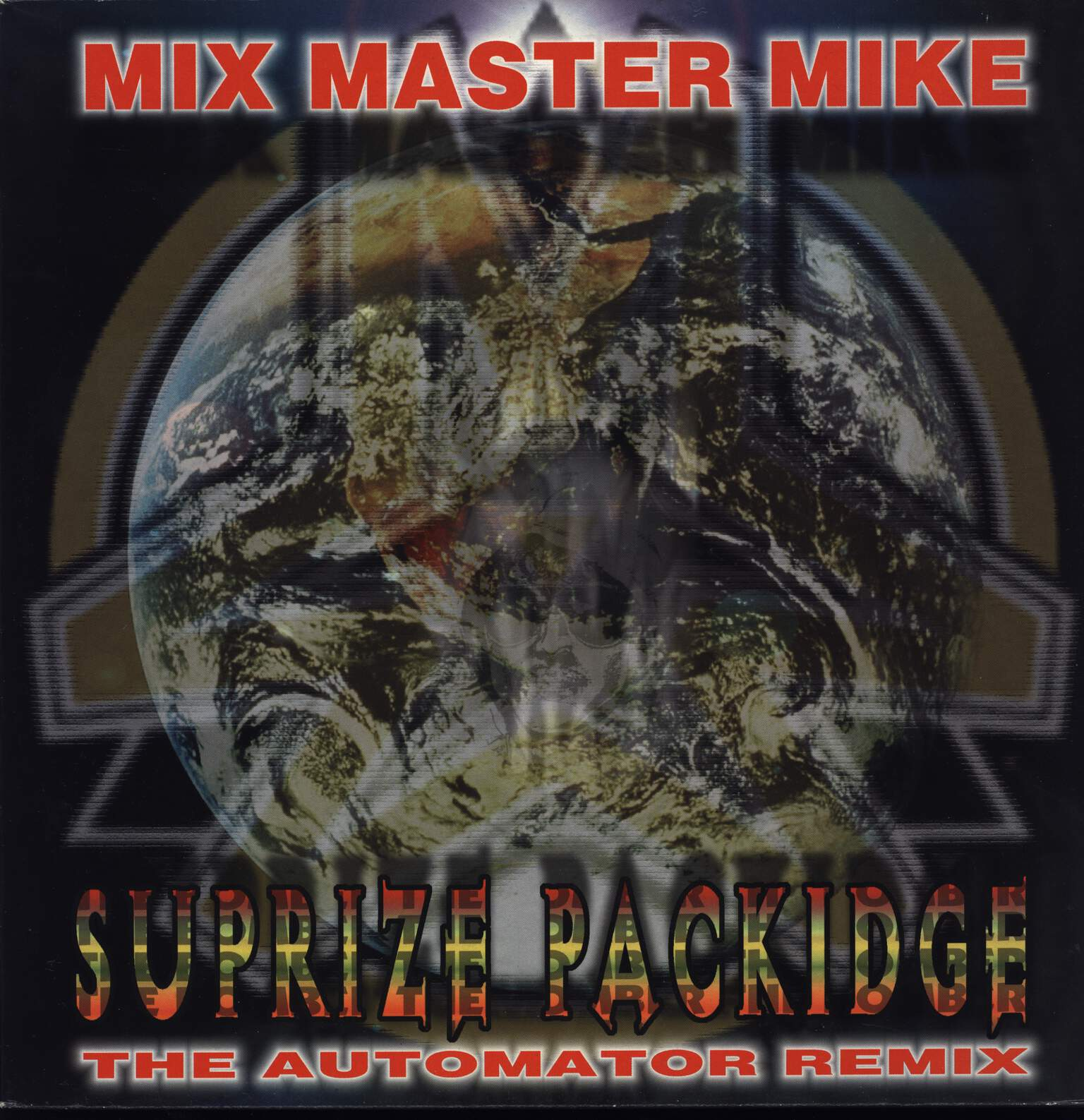 "Mix Master Mike: Suprize Packidge, 12"" Maxi Single (Vinyl)"
