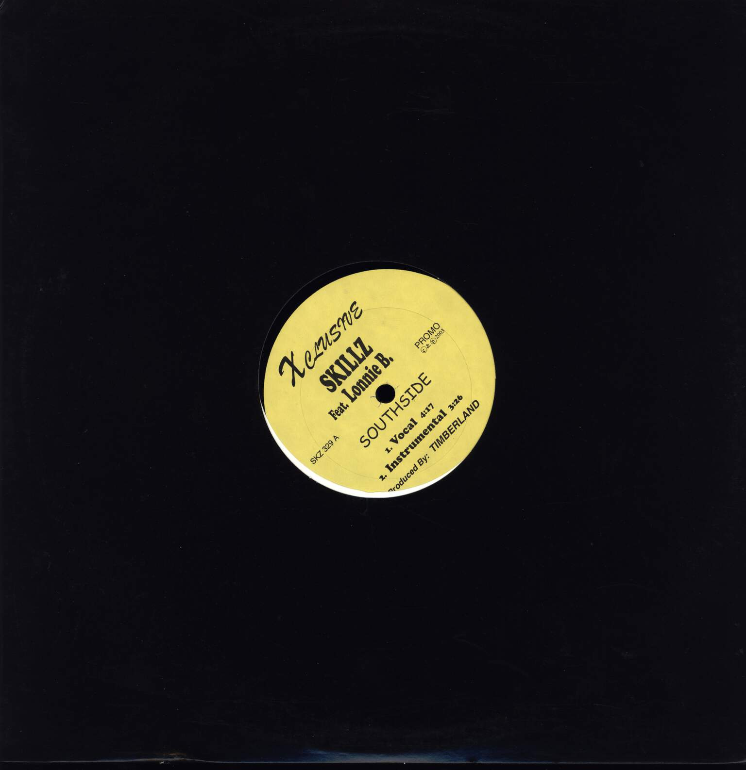 "Skillz: Southside, 12"" Maxi Single (Vinyl)"