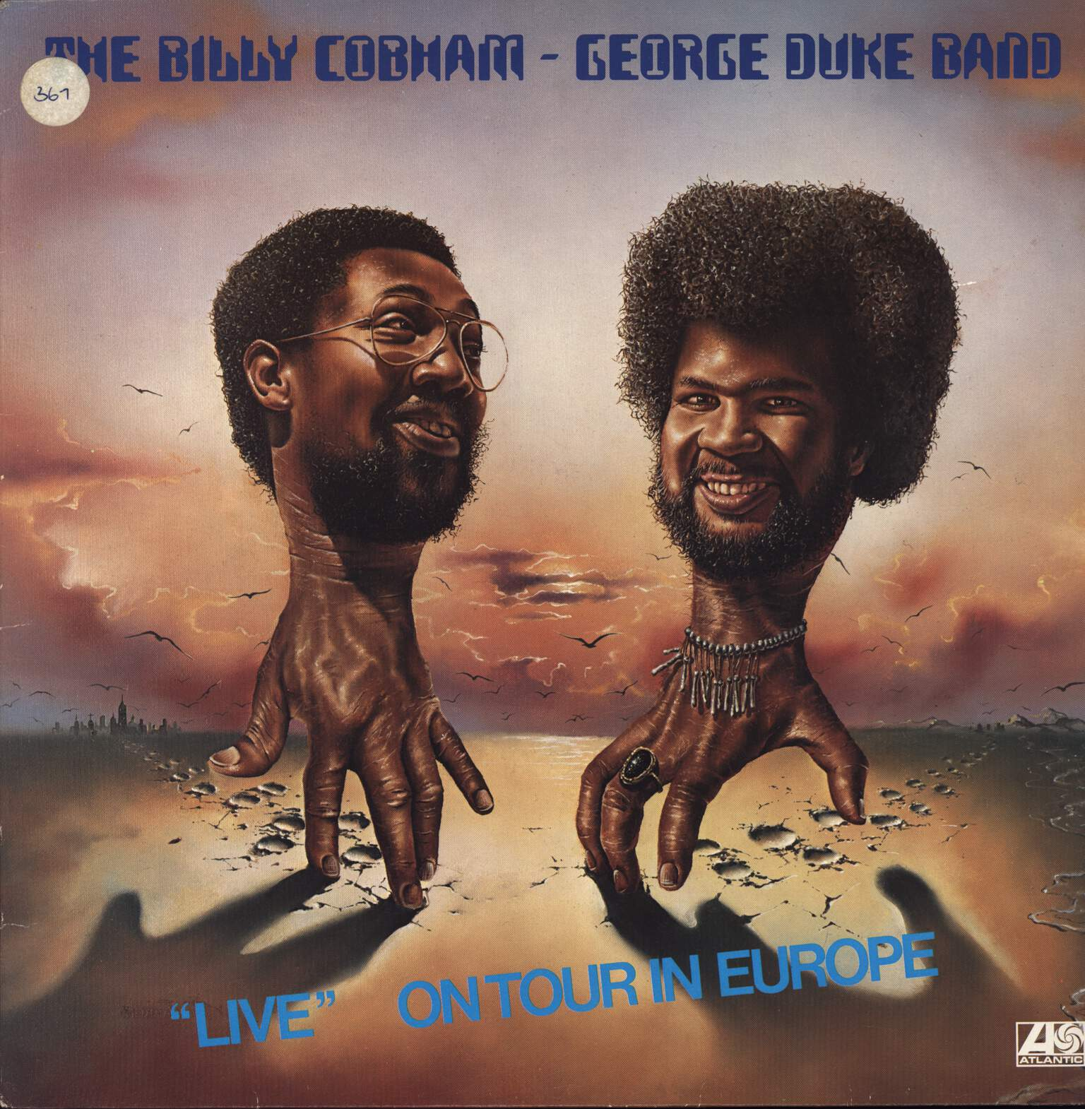 "Billy Cobham / George Duke Band: ""Live"" On Tour In Europe, LP (Vinyl)"