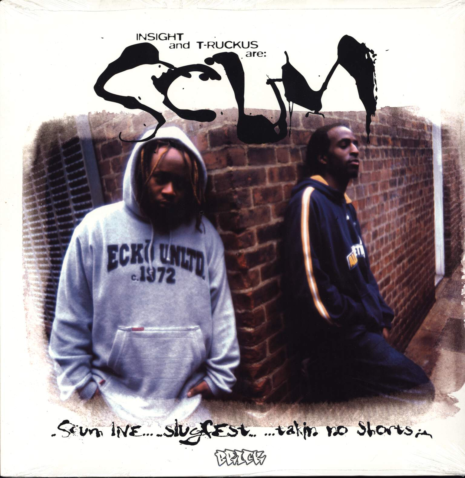 "Scum: Scum Live / Slugfest / Takin' No Shorts, 12"" Maxi Single (Vinyl)"