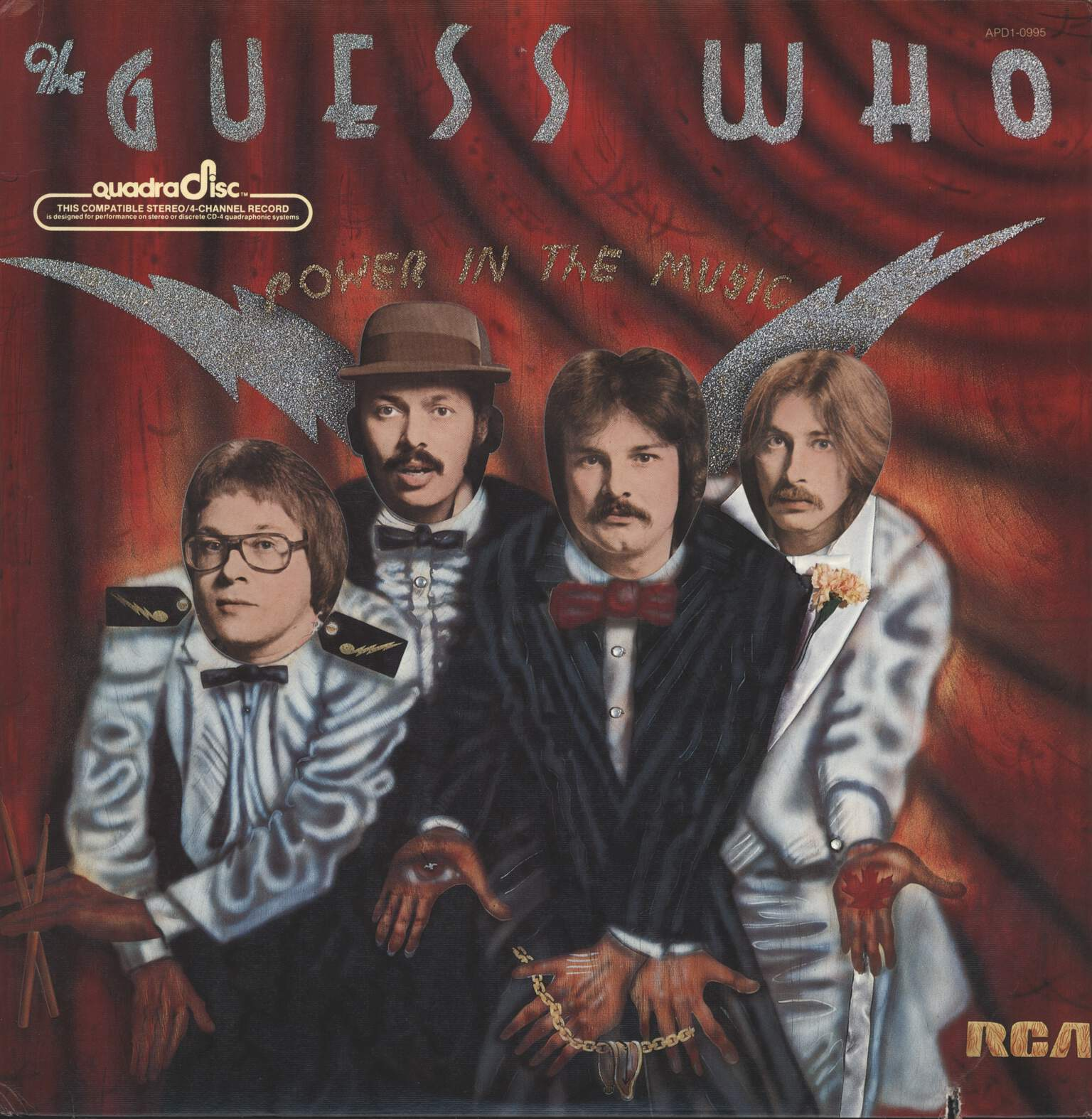 Guess Who: Power In The Music, LP (Vinyl)