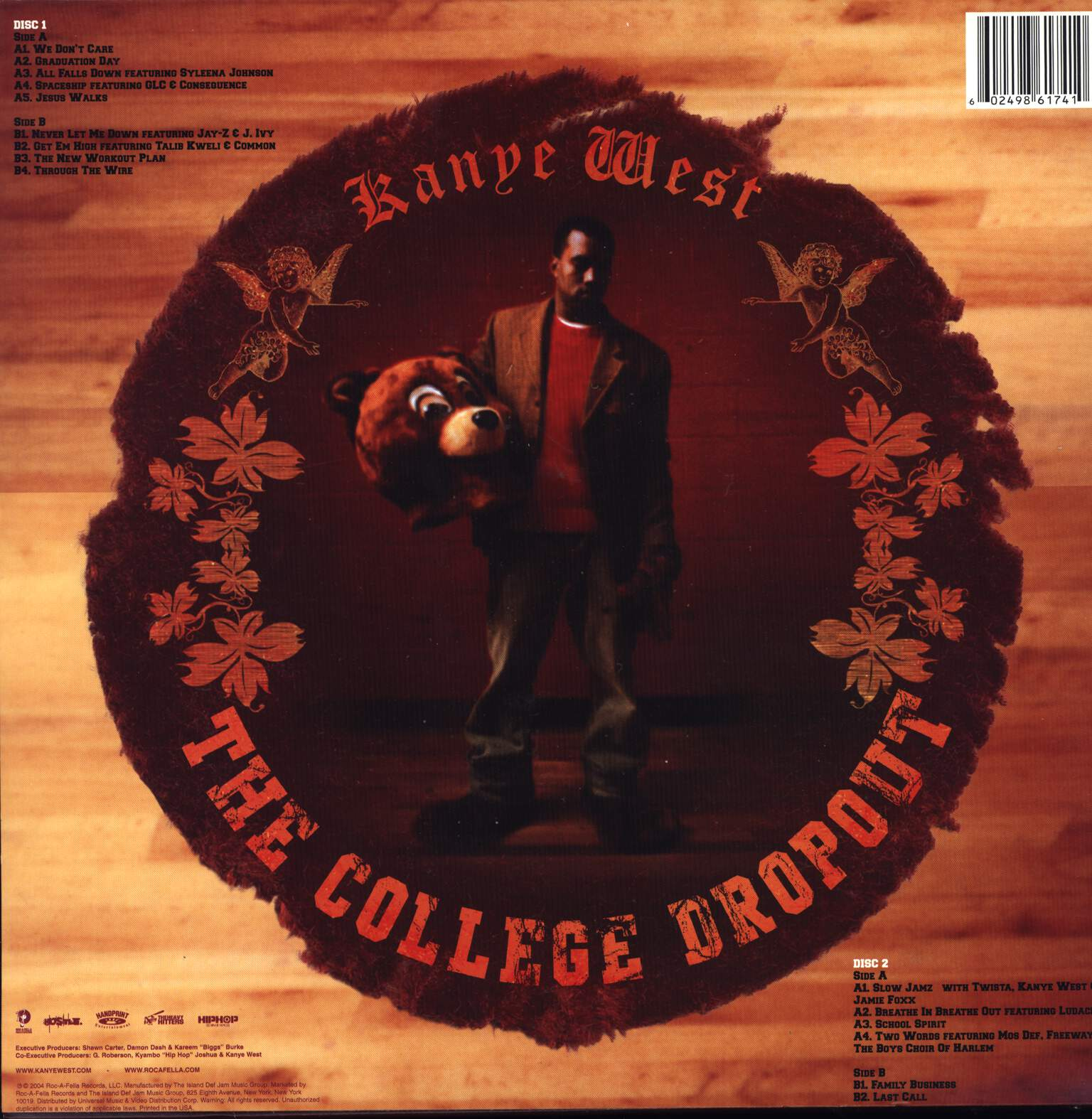 Kanye West: The College Dropout, LP (Vinyl)