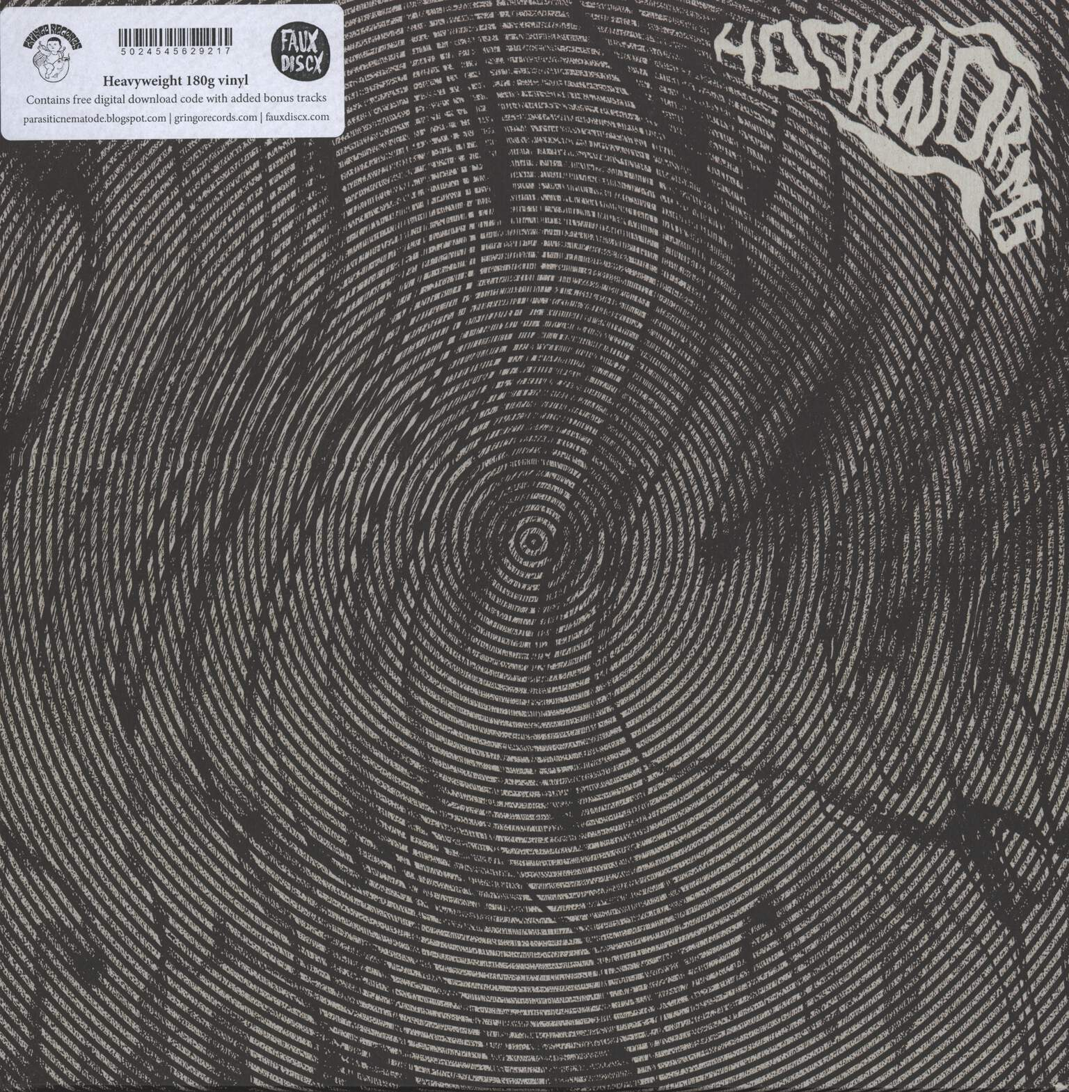 "Hookworms: Hookworms, 12"" Maxi Single (Vinyl)"
