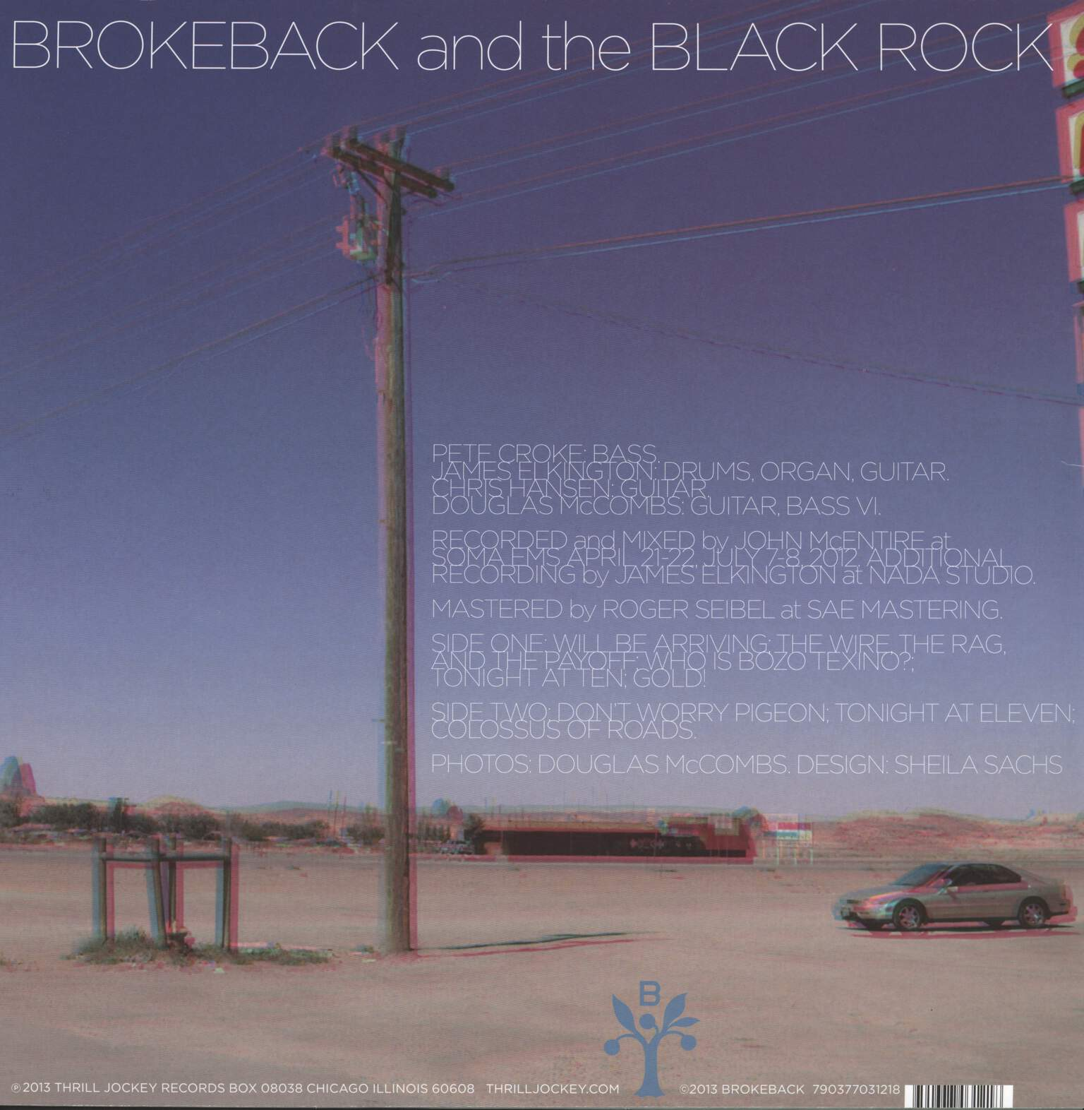 Brokeback: Brokeback And The Black Rock, LP (Vinyl)