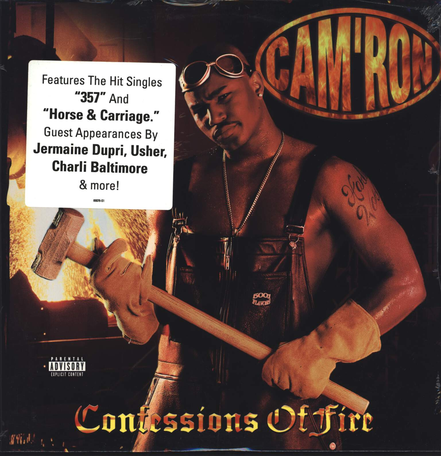 Cam'ron: Confessions Of Fire, LP (Vinyl)