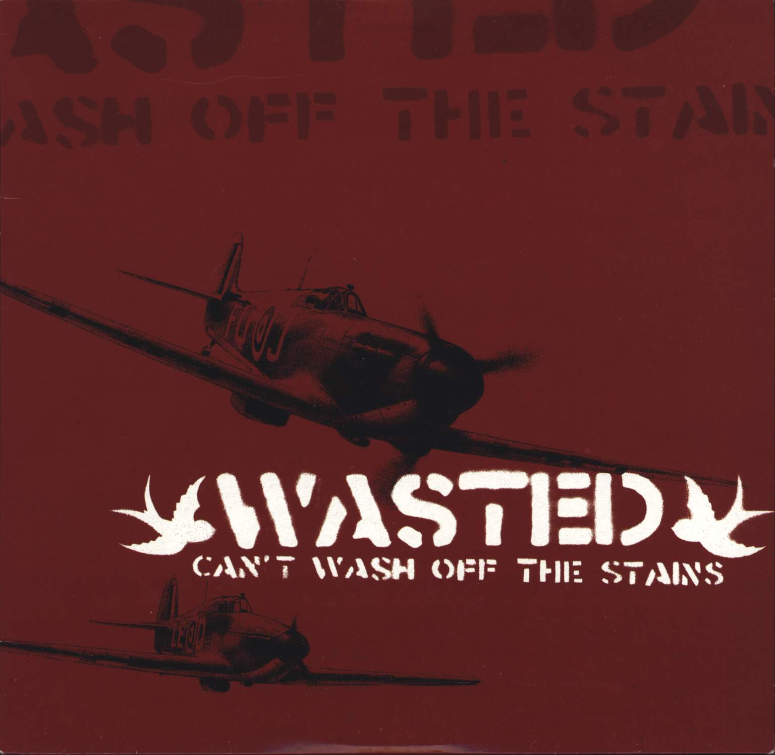 "Wasted: Can't Wash Off The Stains, 10"" Vinyl EP"