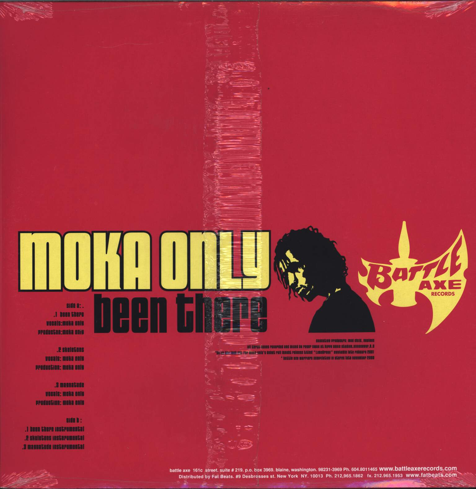 "Moka Only: Been There, 12"" Maxi Single (Vinyl)"