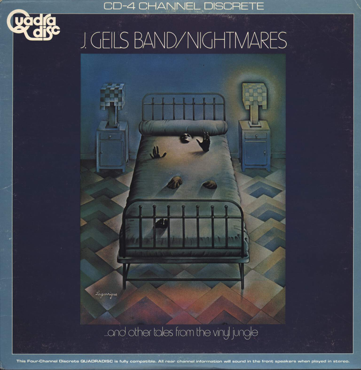 J. Geils Band: Nightmares (...And Other Tales From The Vinyl Jungle), LP (Vinyl)