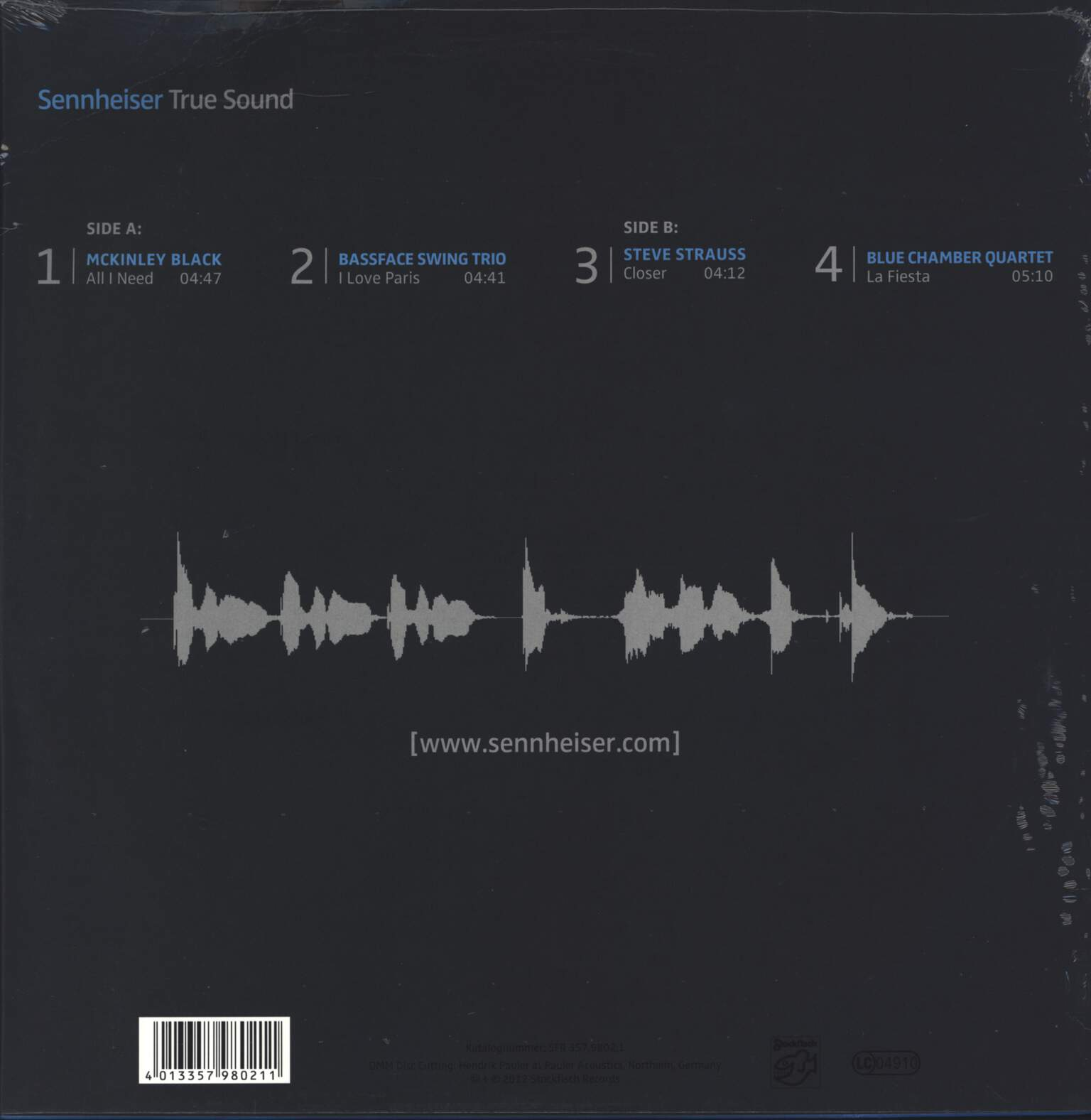 "Various: Sennheiser [True Sound], 12"" Maxi Single (Vinyl)"