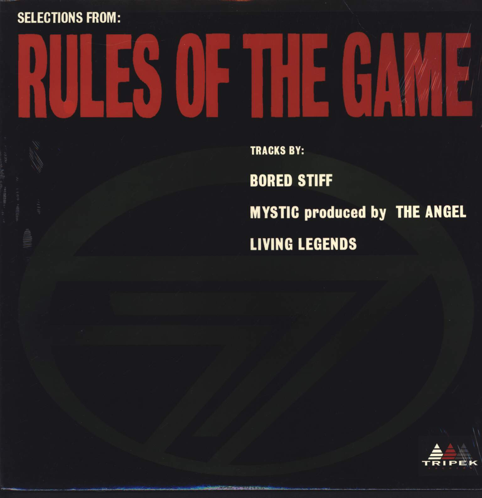 "Various: Rules Of The Game, 12"" Maxi Single (Vinyl)"