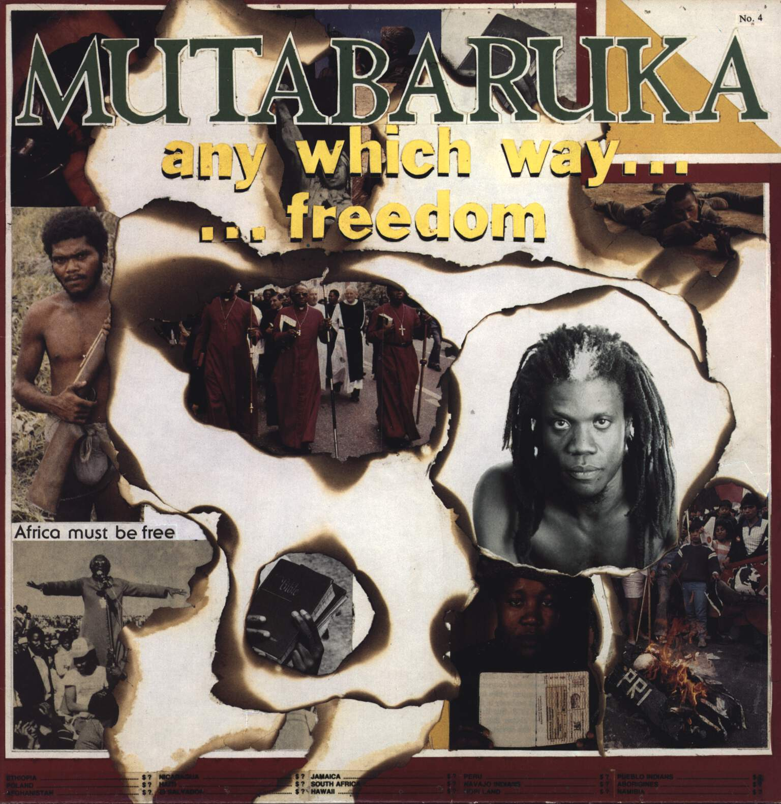 Mutabaruka: Any Which Way Freedom, LP (Vinyl)