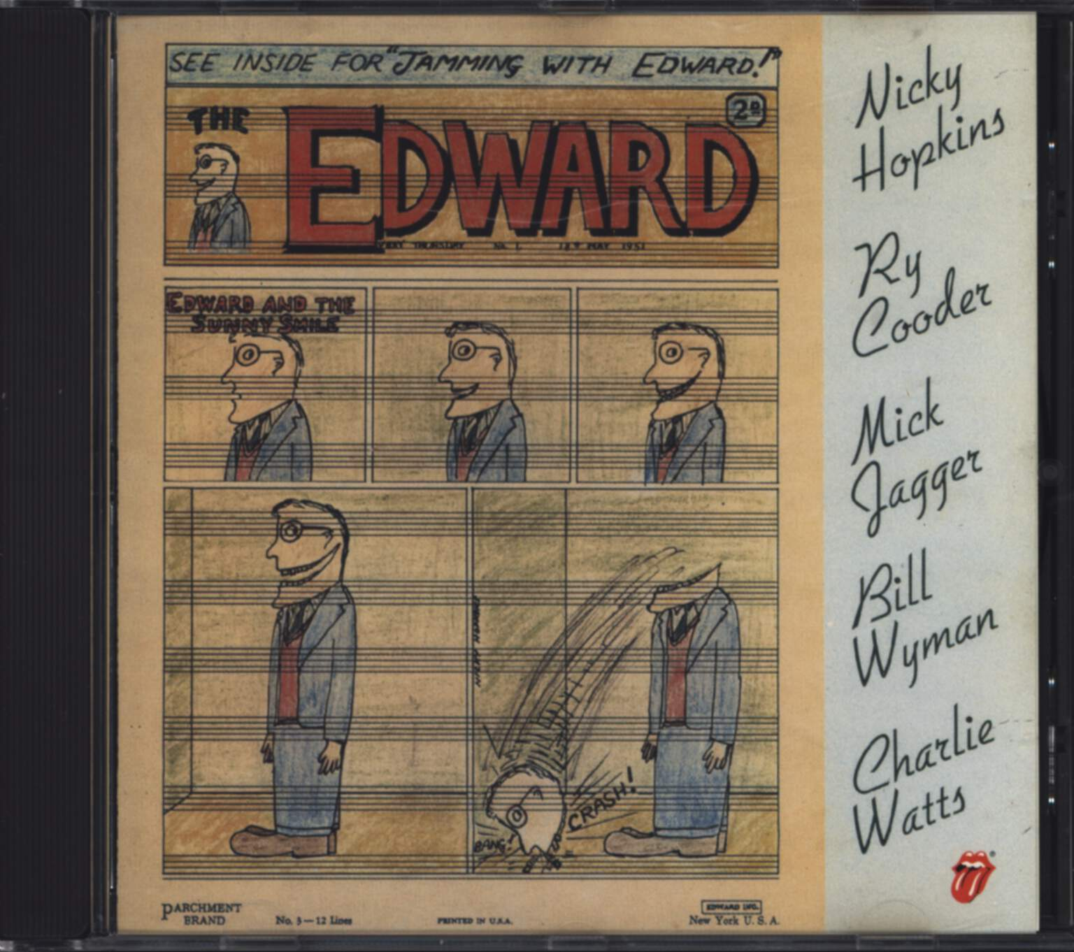 Nicky Hopkins: Jamming With Edward, CD