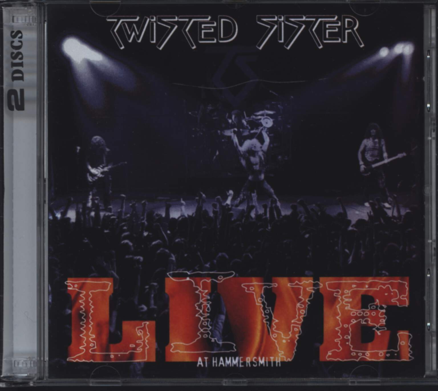 Twisted Sister: Live At Hammersmith, CD