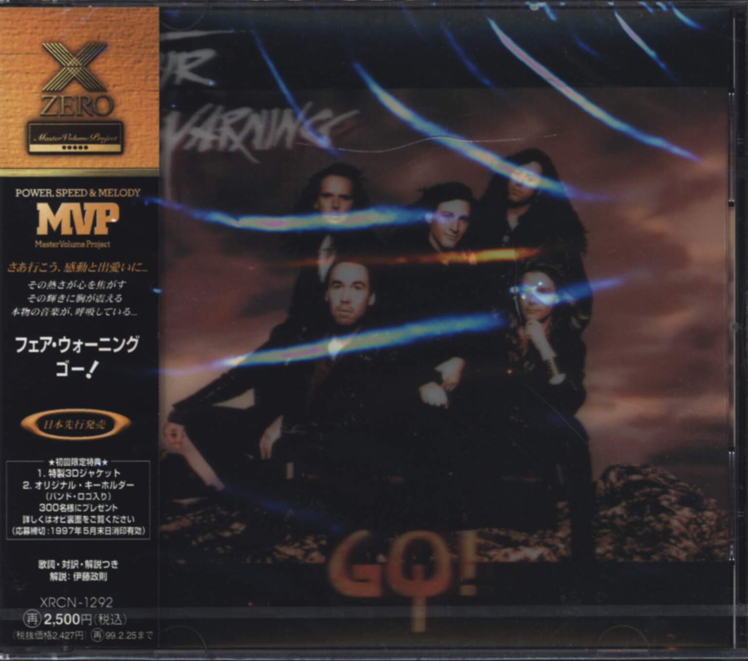 Fair Warning: Go!, CD