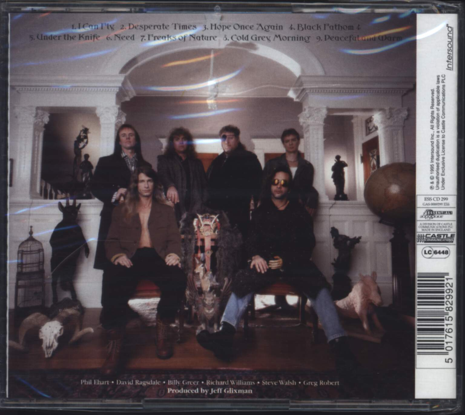 Kansas: Freaks Of Nature, CD