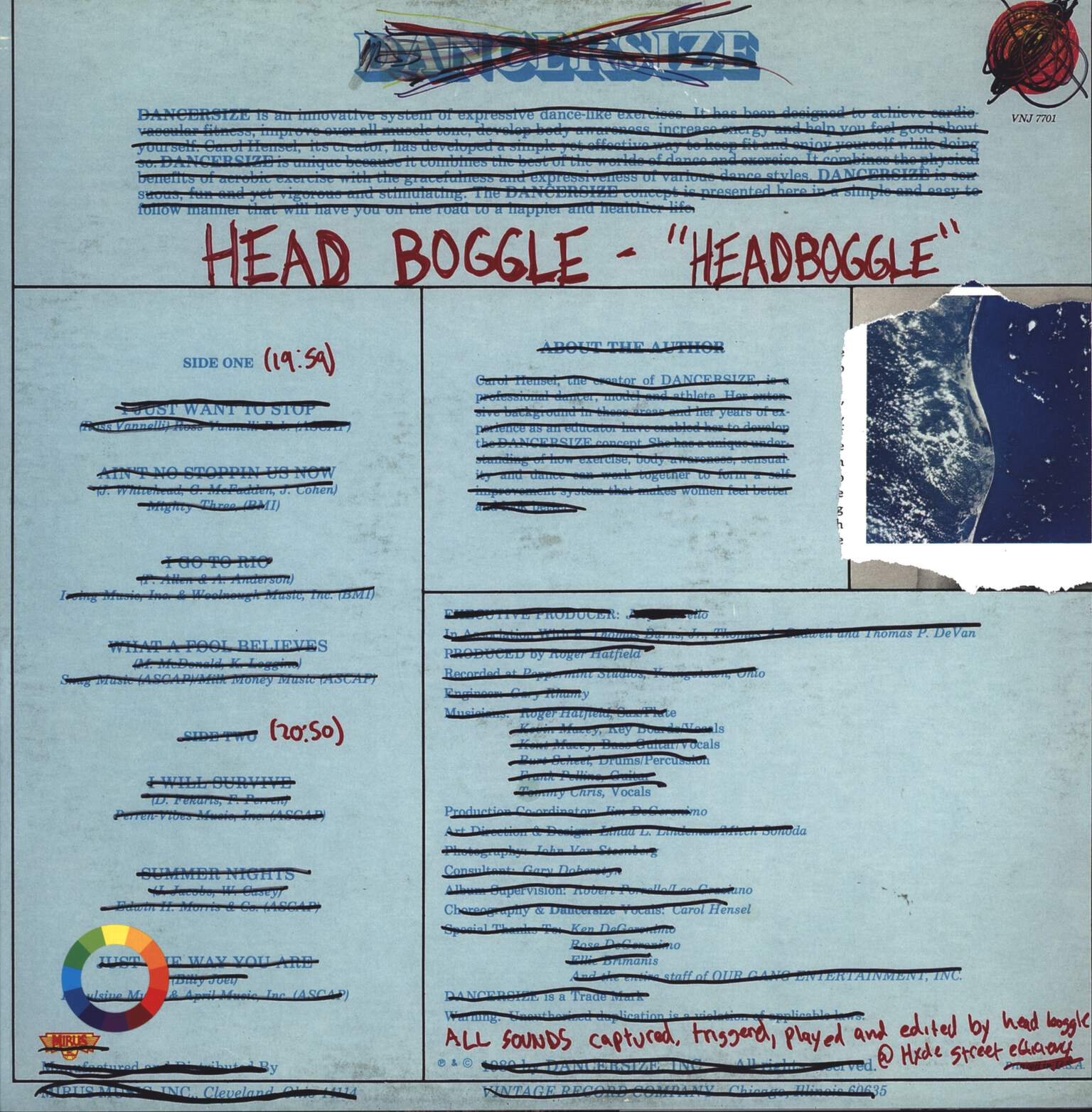 Head Boggle: Headboggle, LP (Vinyl)