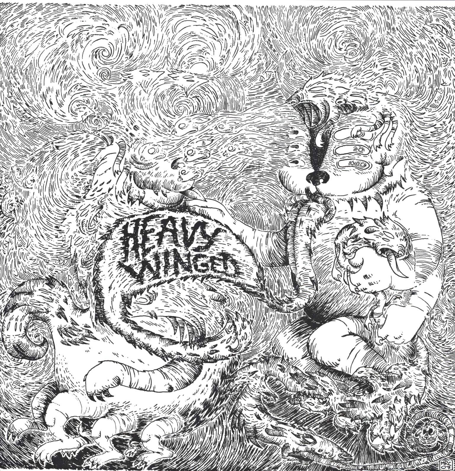 Heavy Winged: Alive In My Mouth, LP (Vinyl)