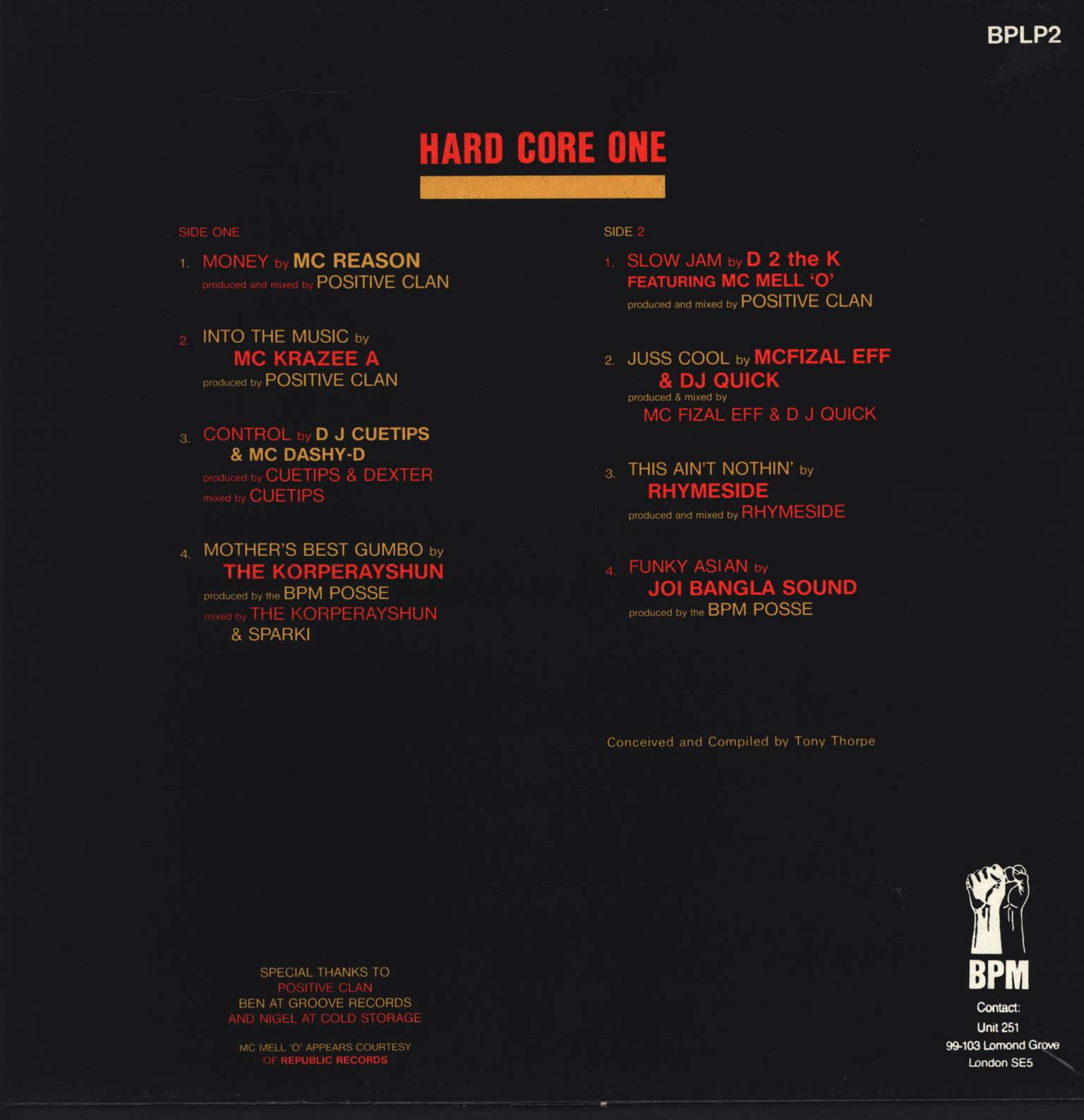 Various: Hard Core One, LP (Vinyl)