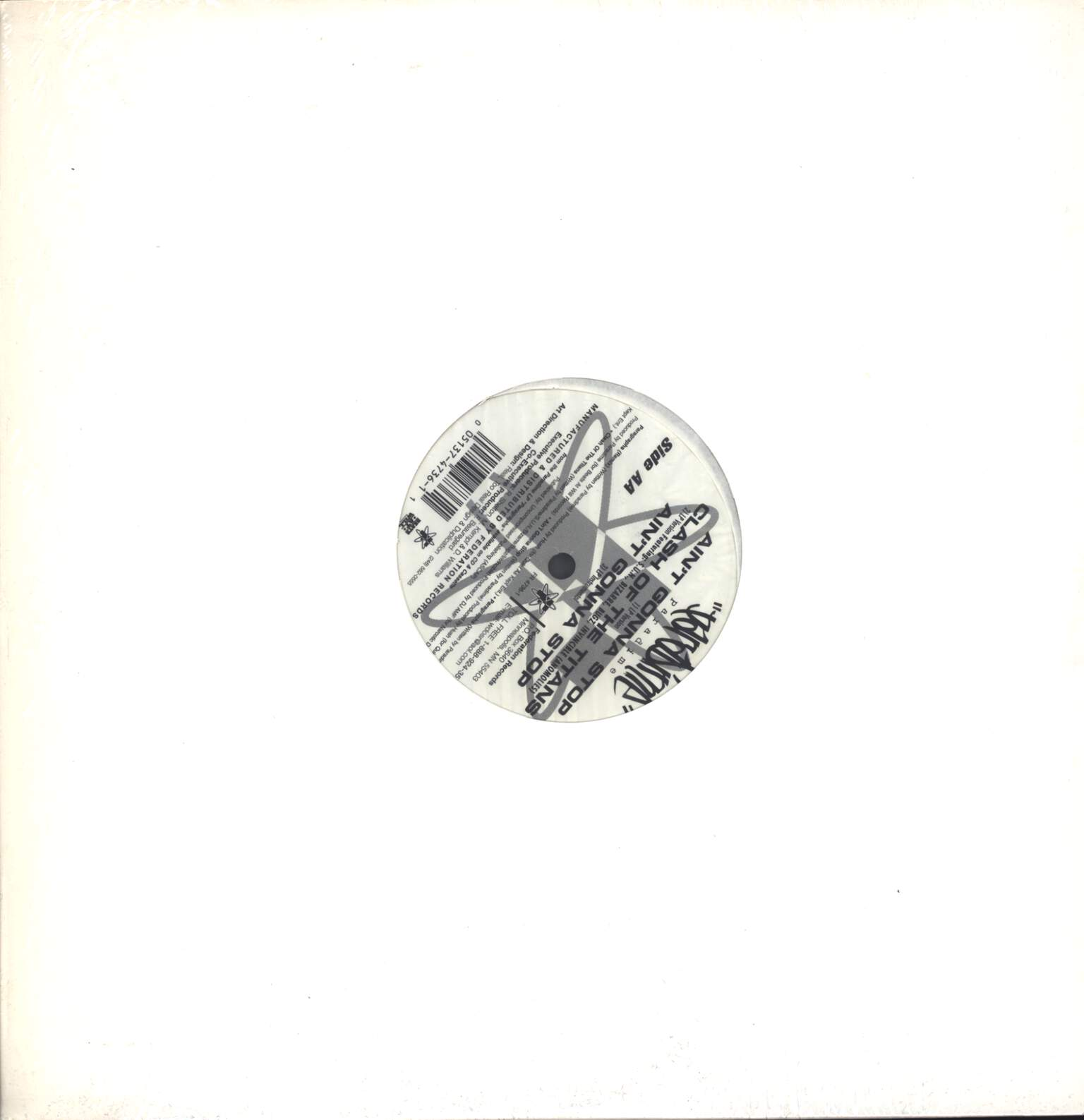 "Paradime: Paragraphs (Remix), 12"" Maxi Single (Vinyl)"