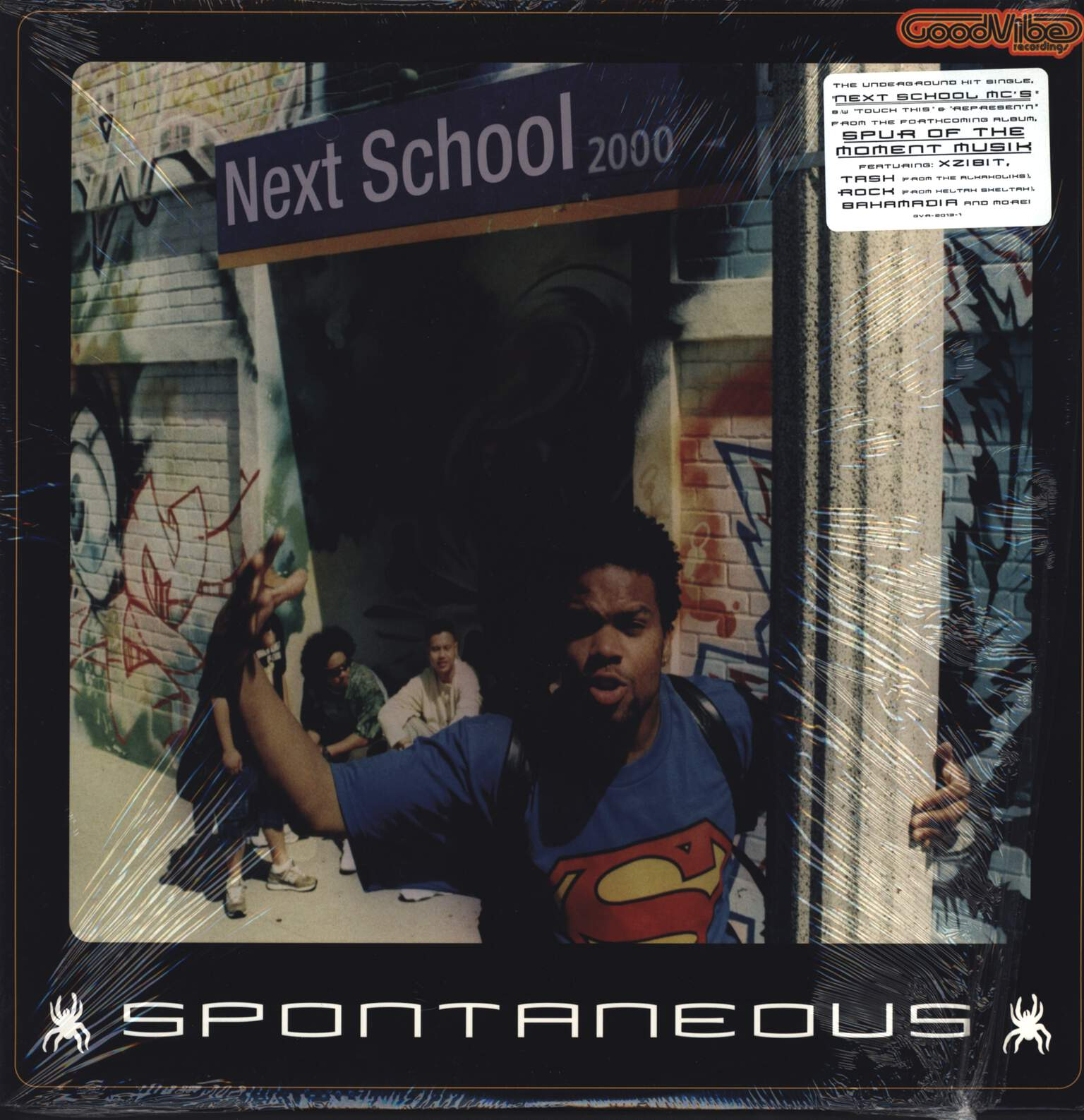 "Spontaneous: Next School MC's, 12"" Maxi Single (Vinyl)"
