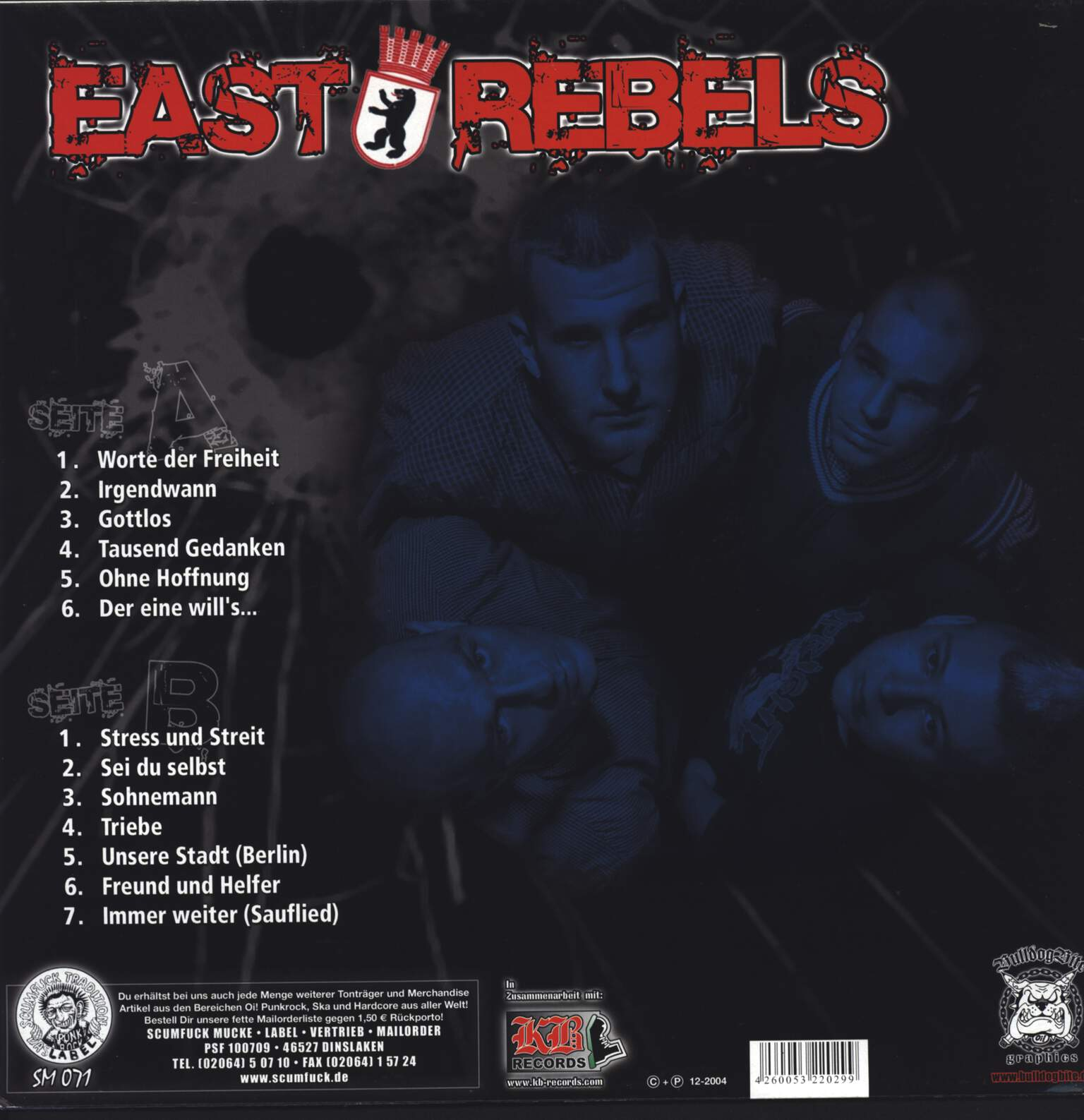 East Rebels: Mit Aller Gewalt..., LP (Vinyl)