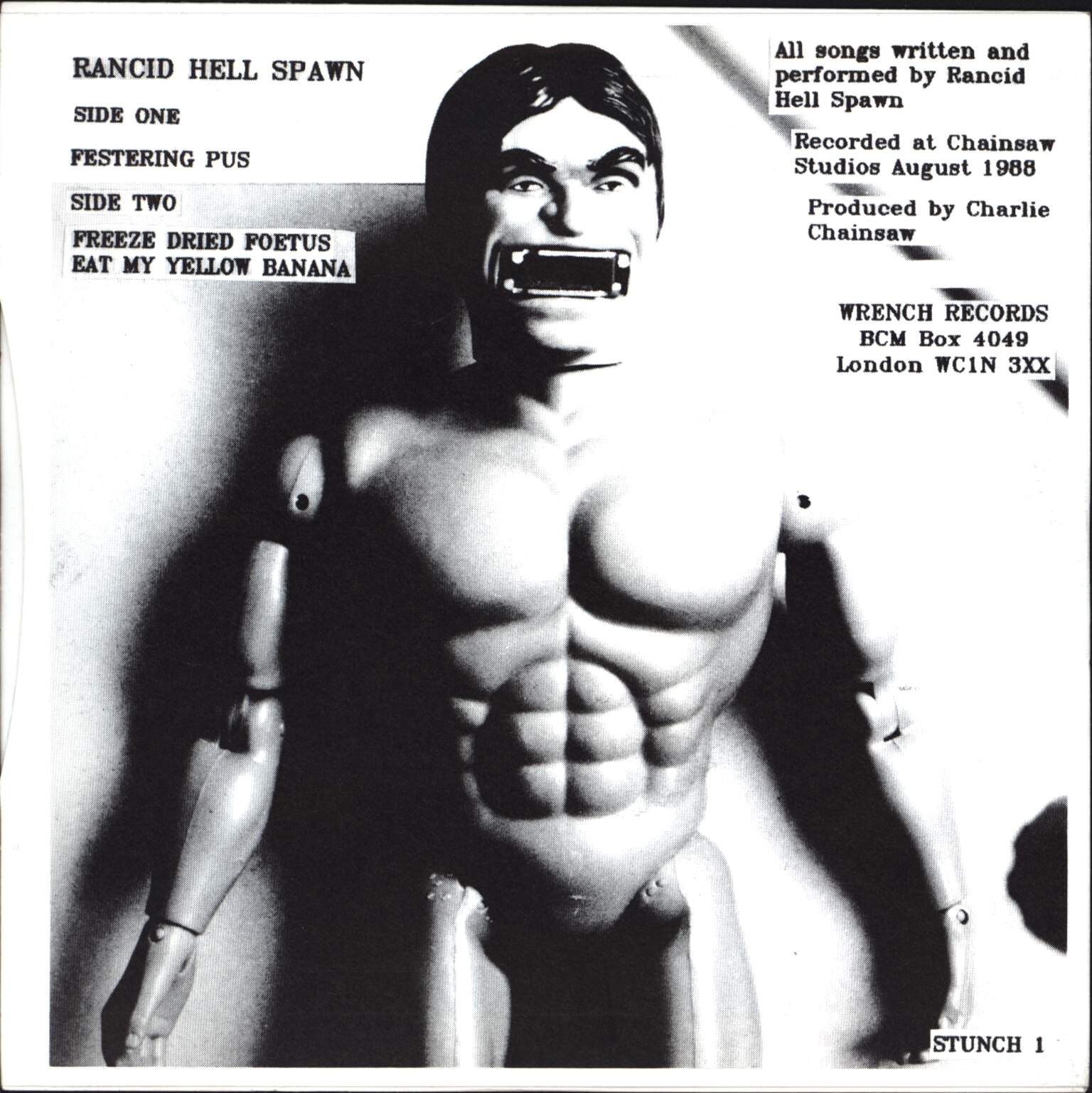"Rancid Hell Spawn: Festering Pus, 7"" Single (Vinyl)"