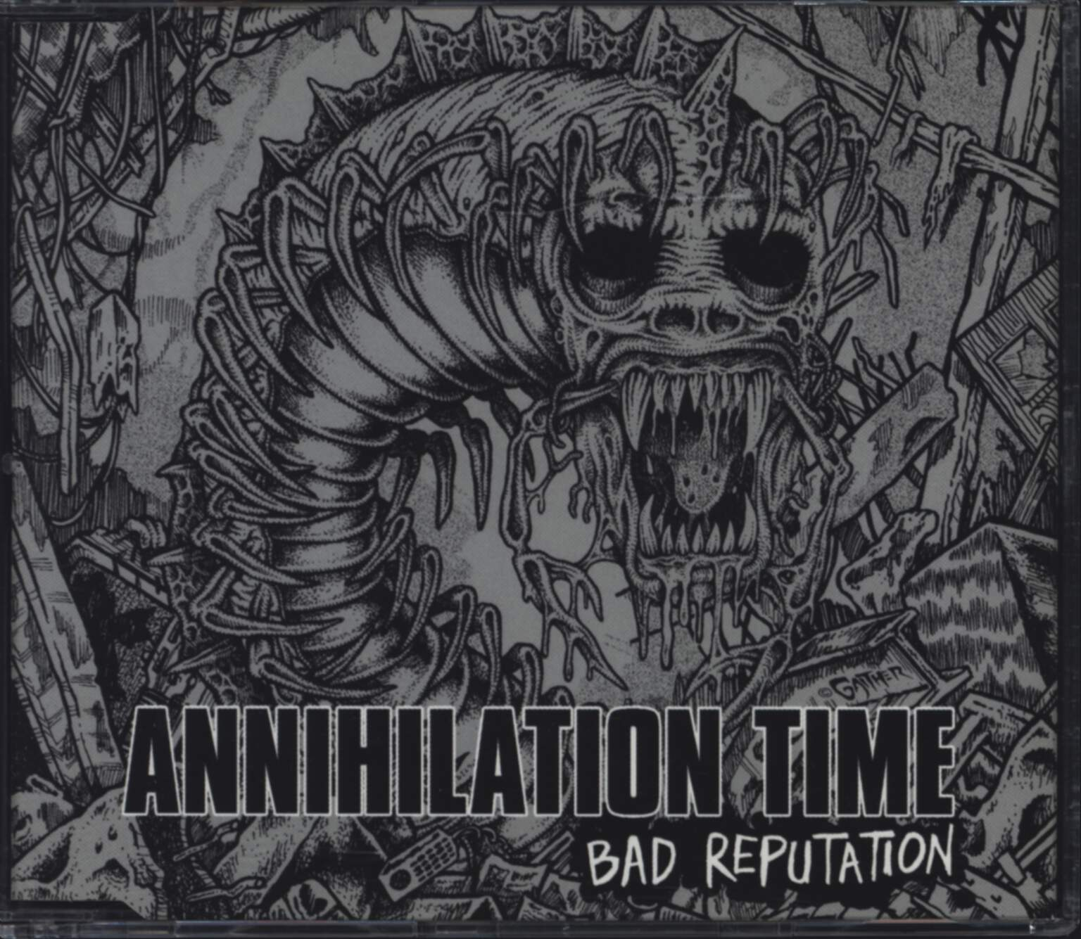 Annihilation Time: Bad Reputation EP, Mini CD