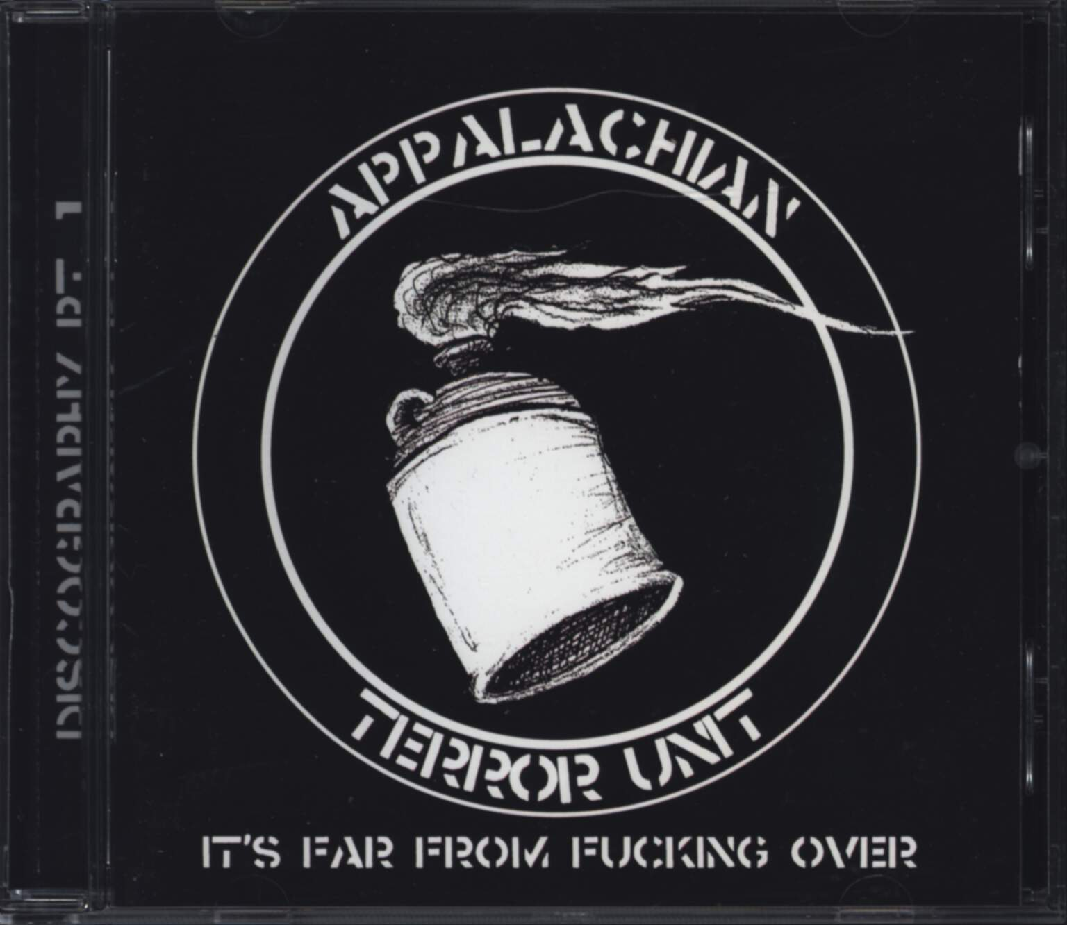 Appalachian Terror Unit: It's Far From Fucking Over, CD