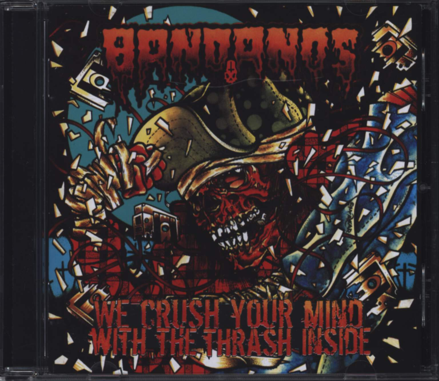 Bandanos: We Crush Your Mind With The Thrash Inside, CD