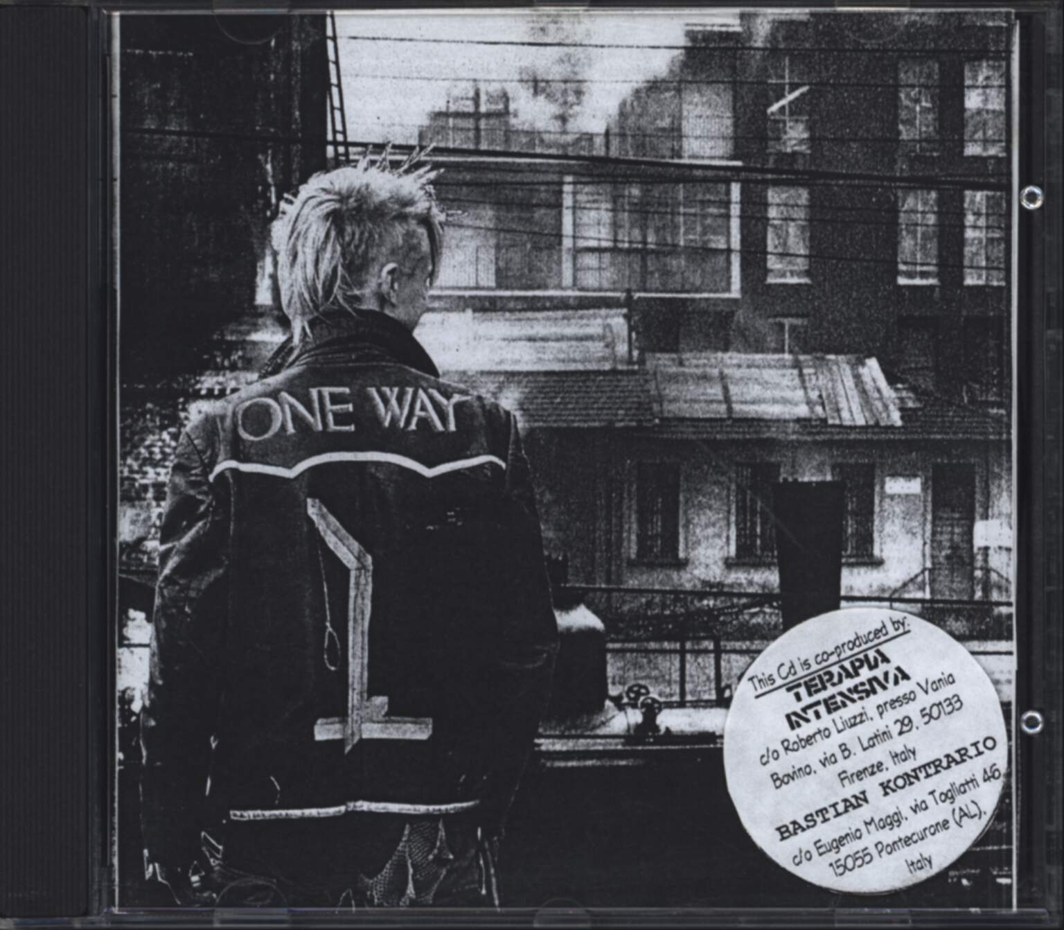 Disarm: One Way ?, CD