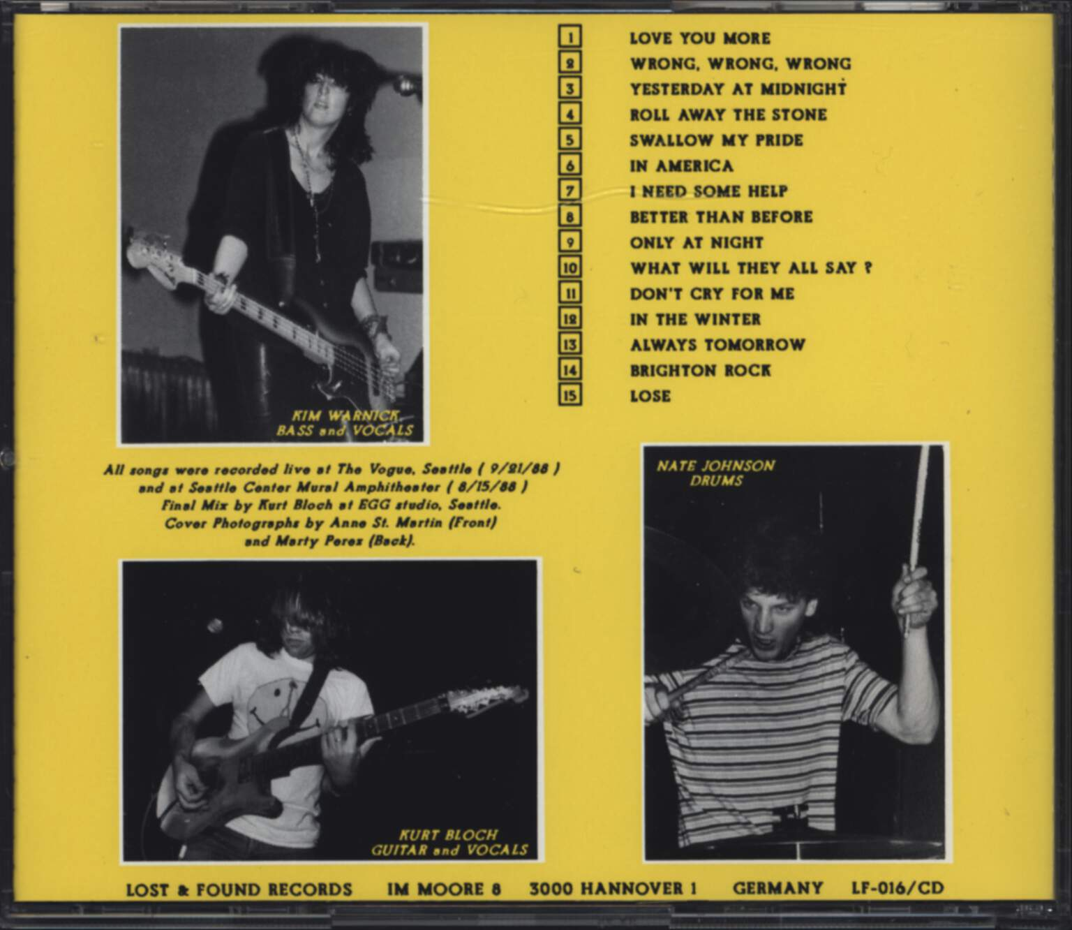 Fastbacks: In America, CD