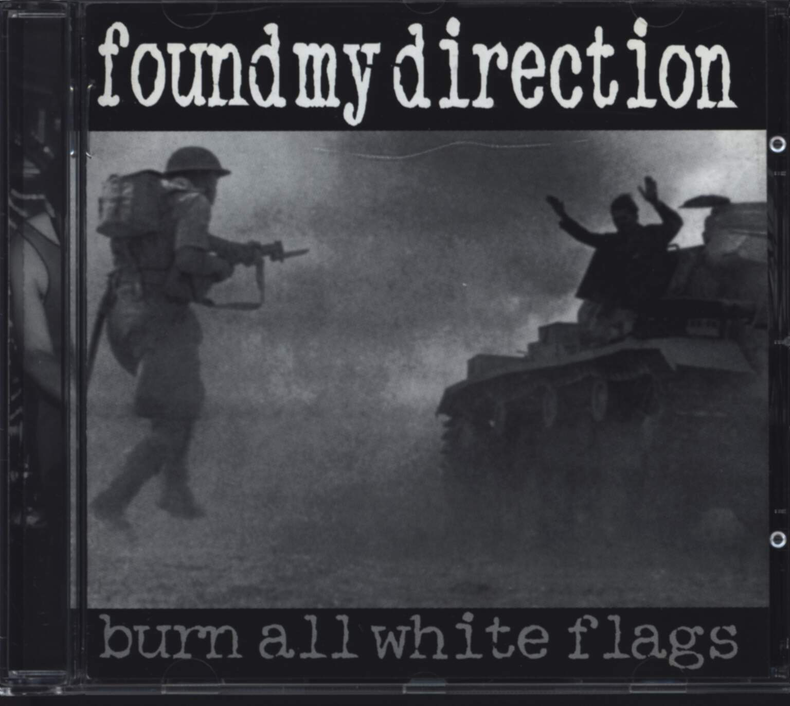 Found My Direction: Burn All White Flags, CD