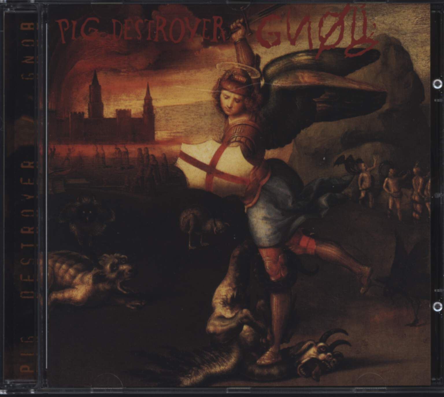 Pig Destroyer: Pig Destroyer / Gnob, CD