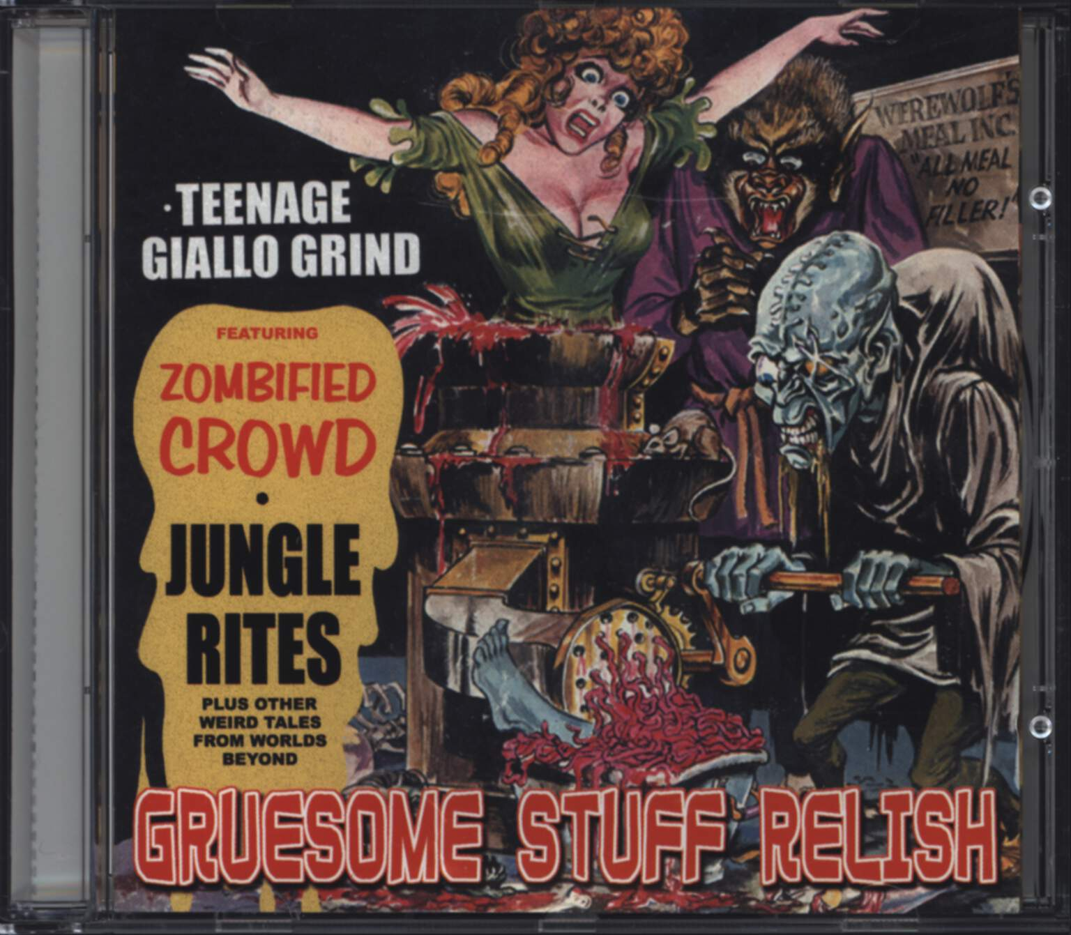 Gruesome Stuff Relish: Teenage Giallo Grind, CD