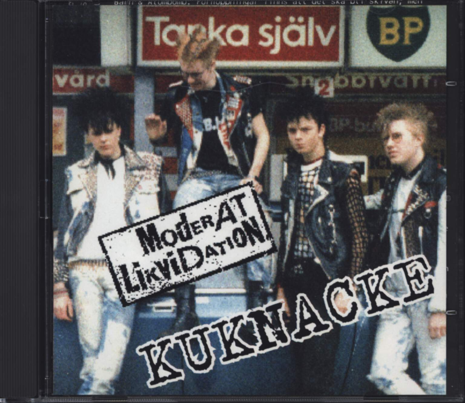 Moderat Likvidation: Kuknacke, CD