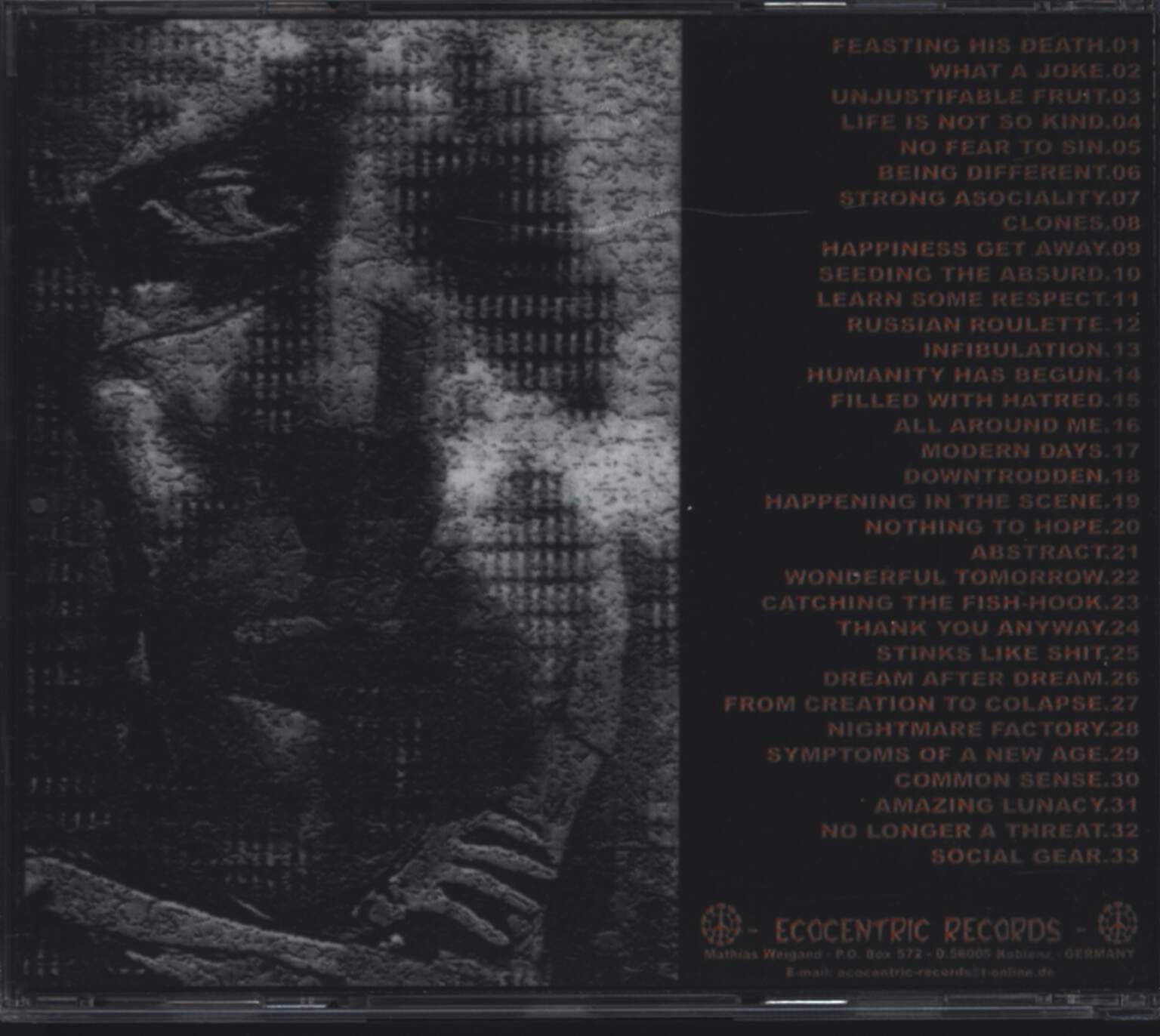 Rot: Sociopathic Behaviour, CD