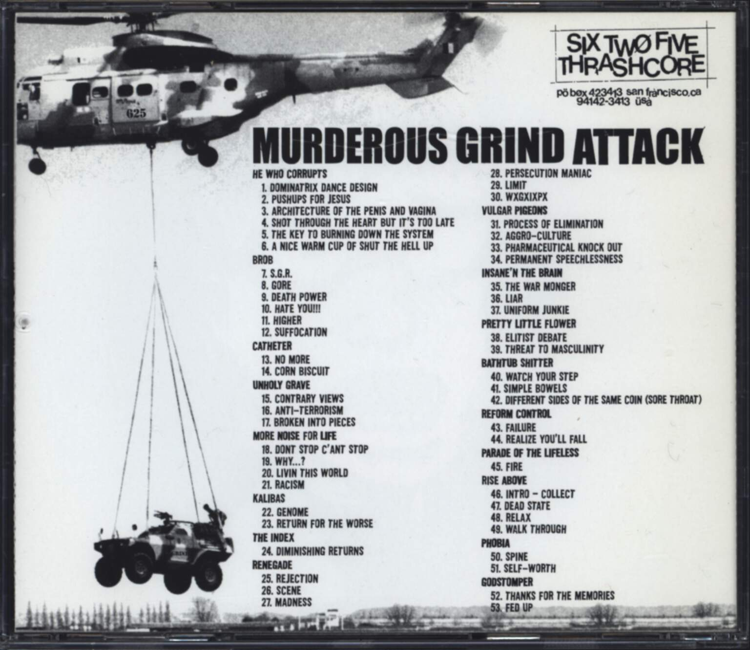 Various: Murderous Grind Attack, CD