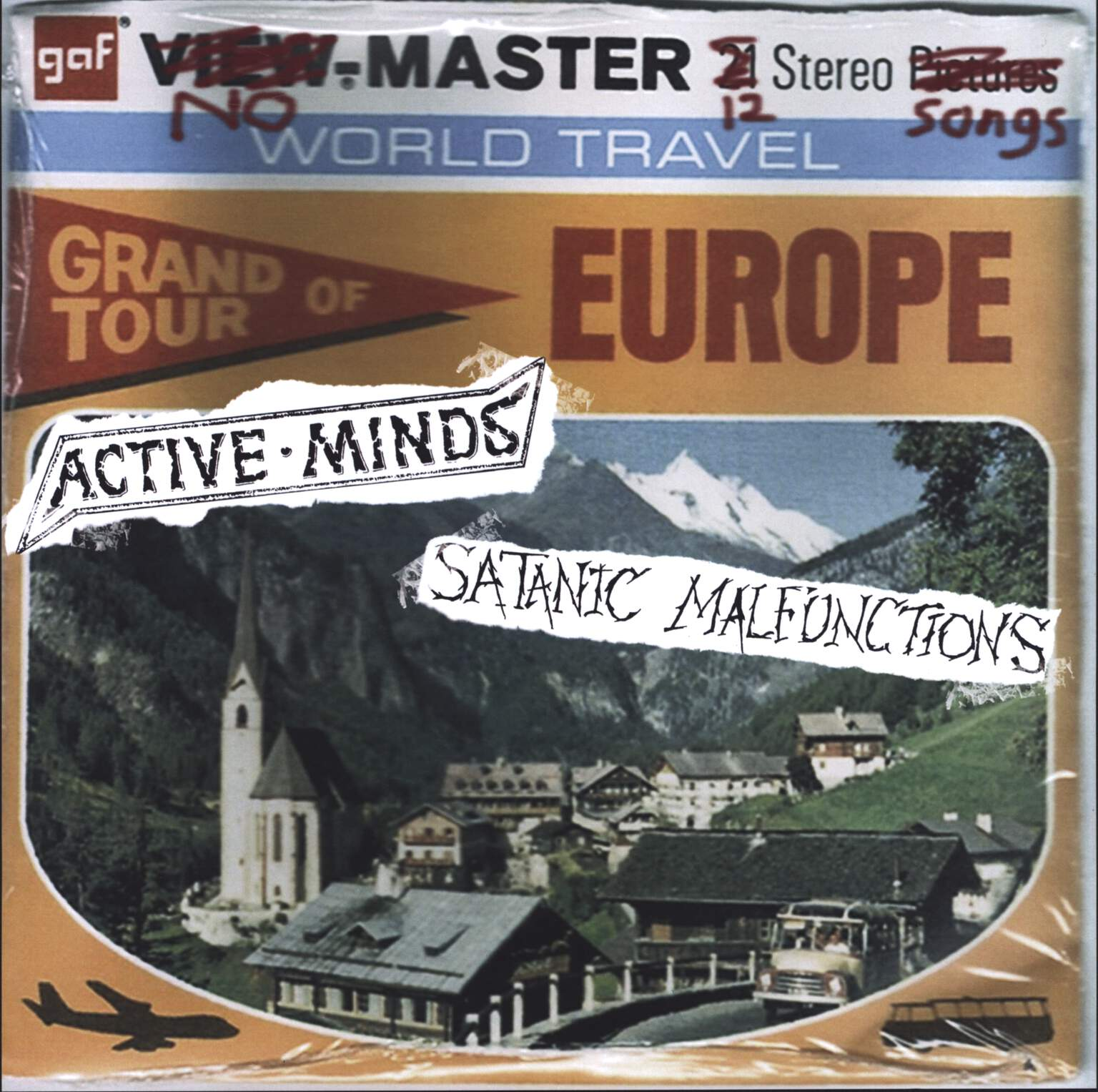 Active Minds: Grand Tour Of Europe, LP (Vinyl)