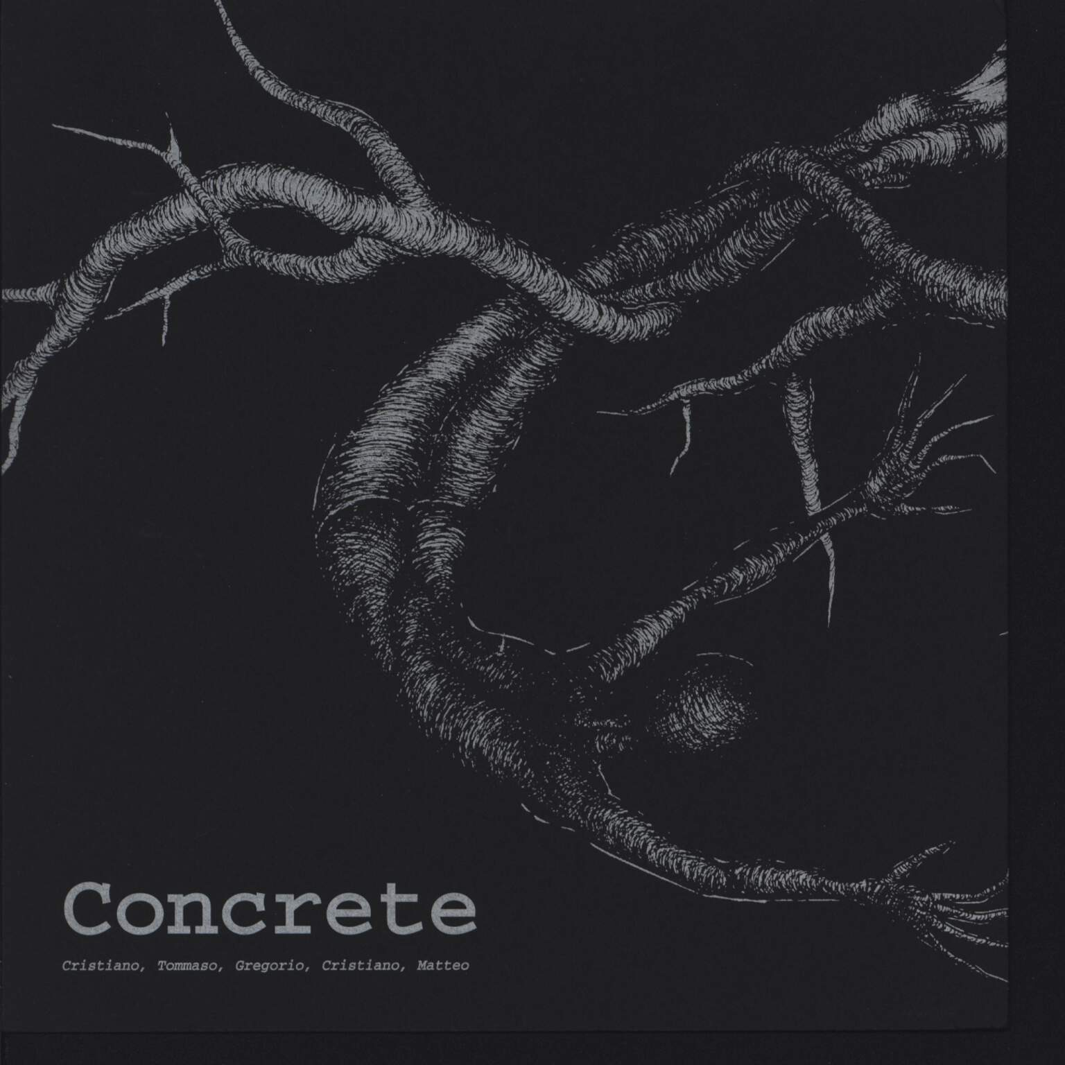 "Antisgammo: Antisgammo / Concrete, 7"" Single (Vinyl)"
