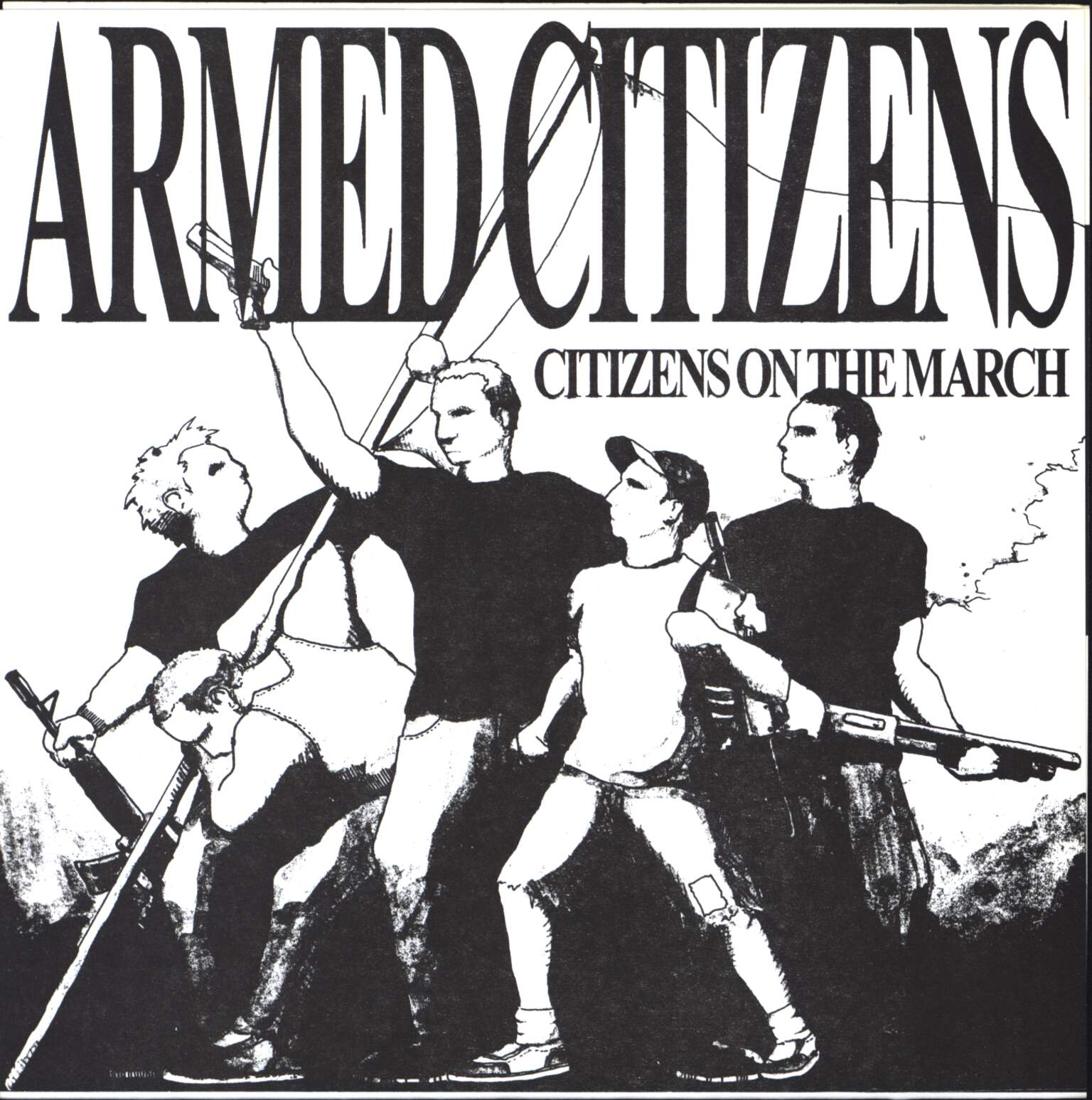 "Armed Citizens: Citizens On The March, 7"" Single (Vinyl)"