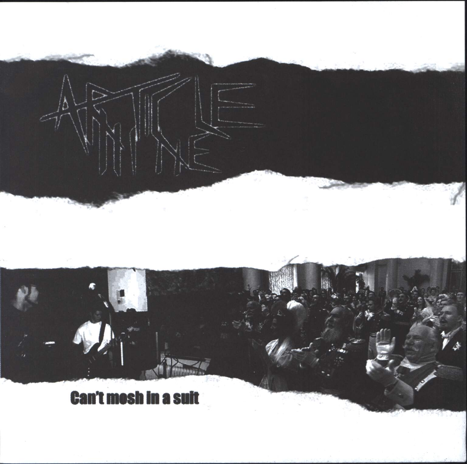 "Article Nine: Can't Mosh In A Suit / Burning Time, 7"" Single (Vinyl)"
