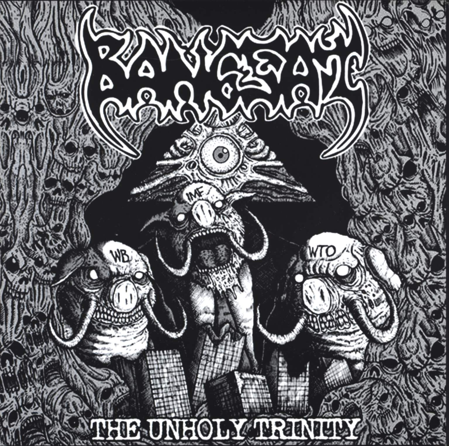 "Dehumanized Earth: Untitled / The Unholy Trinity, 7"" Single (Vinyl)"