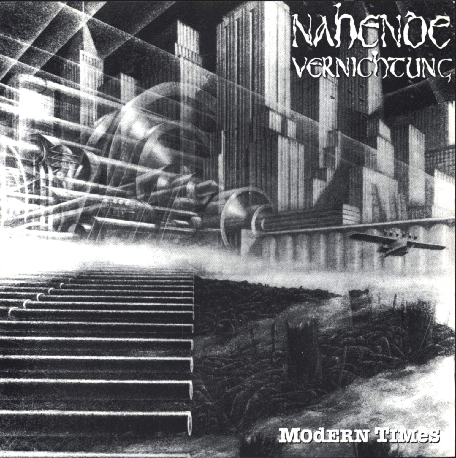 "Nahende Vernichtung: Modern Times / The Barjackers, 7"" Single (Vinyl)"
