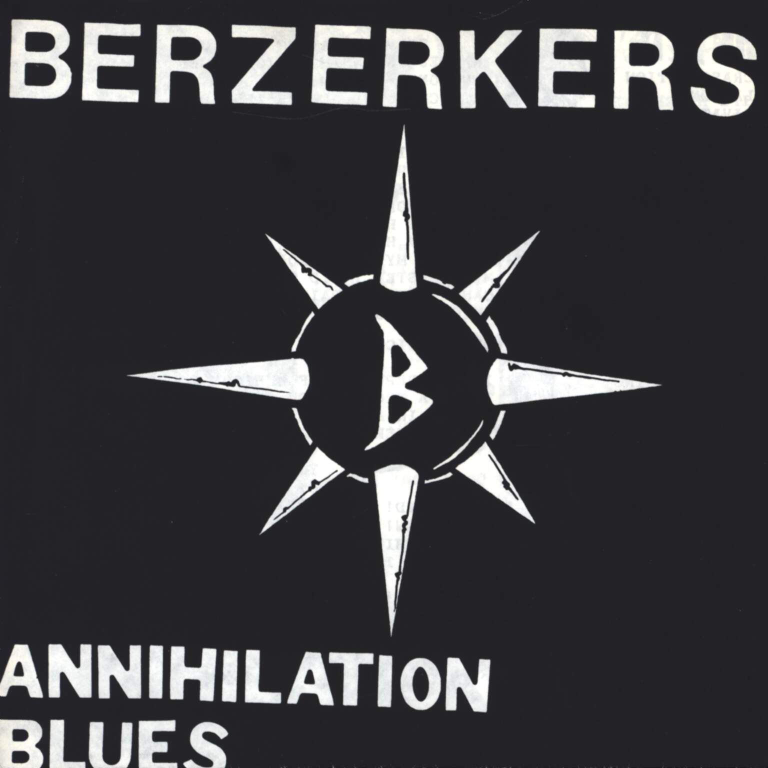 "Berzerkers: Annihilation Blues, 7"" Single (Vinyl)"