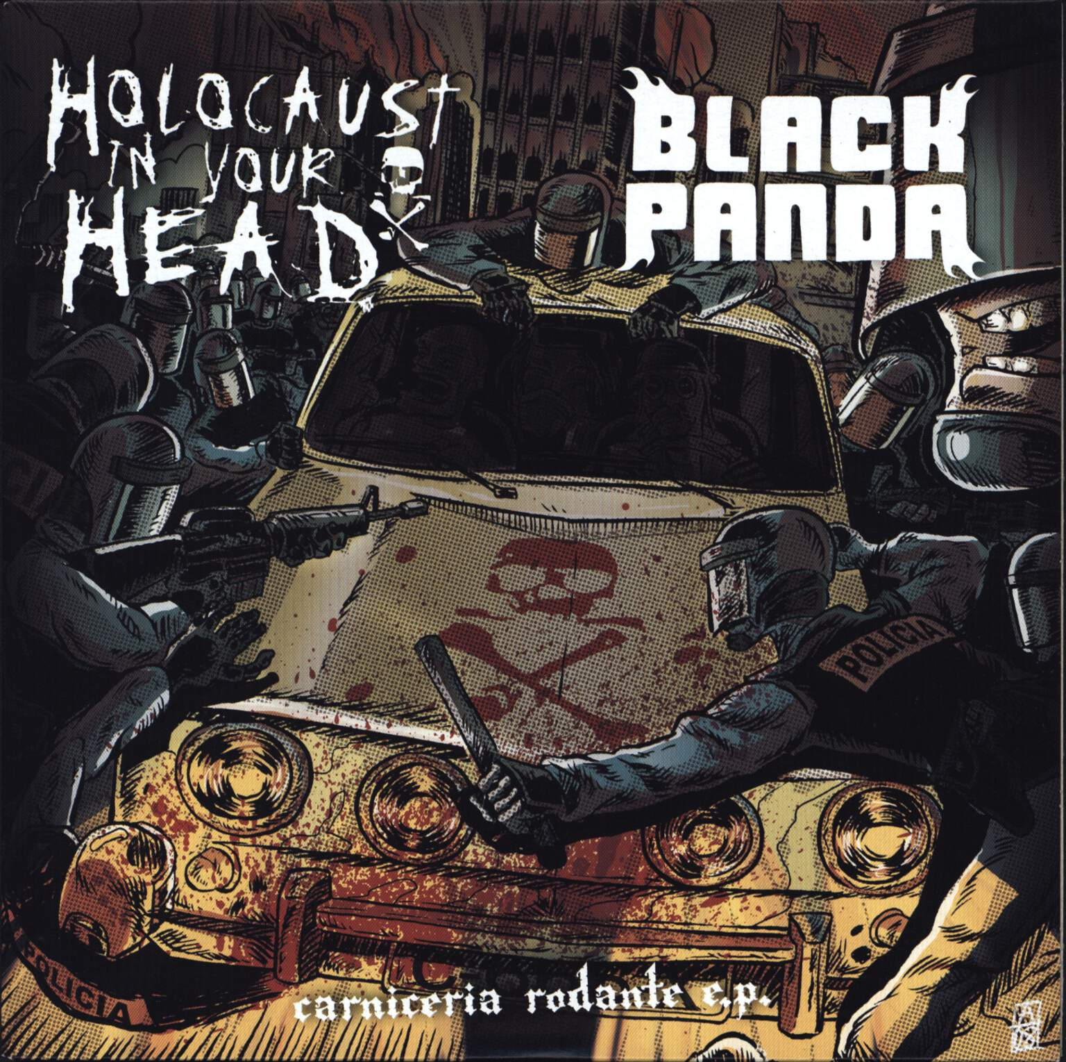 "Holocaust In Your Head: Carniceria Rodante E.P., 7"" Single (Vinyl)"